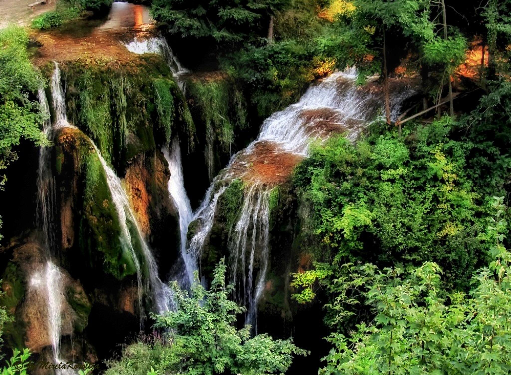 Waterfalls by Mirela Korolija