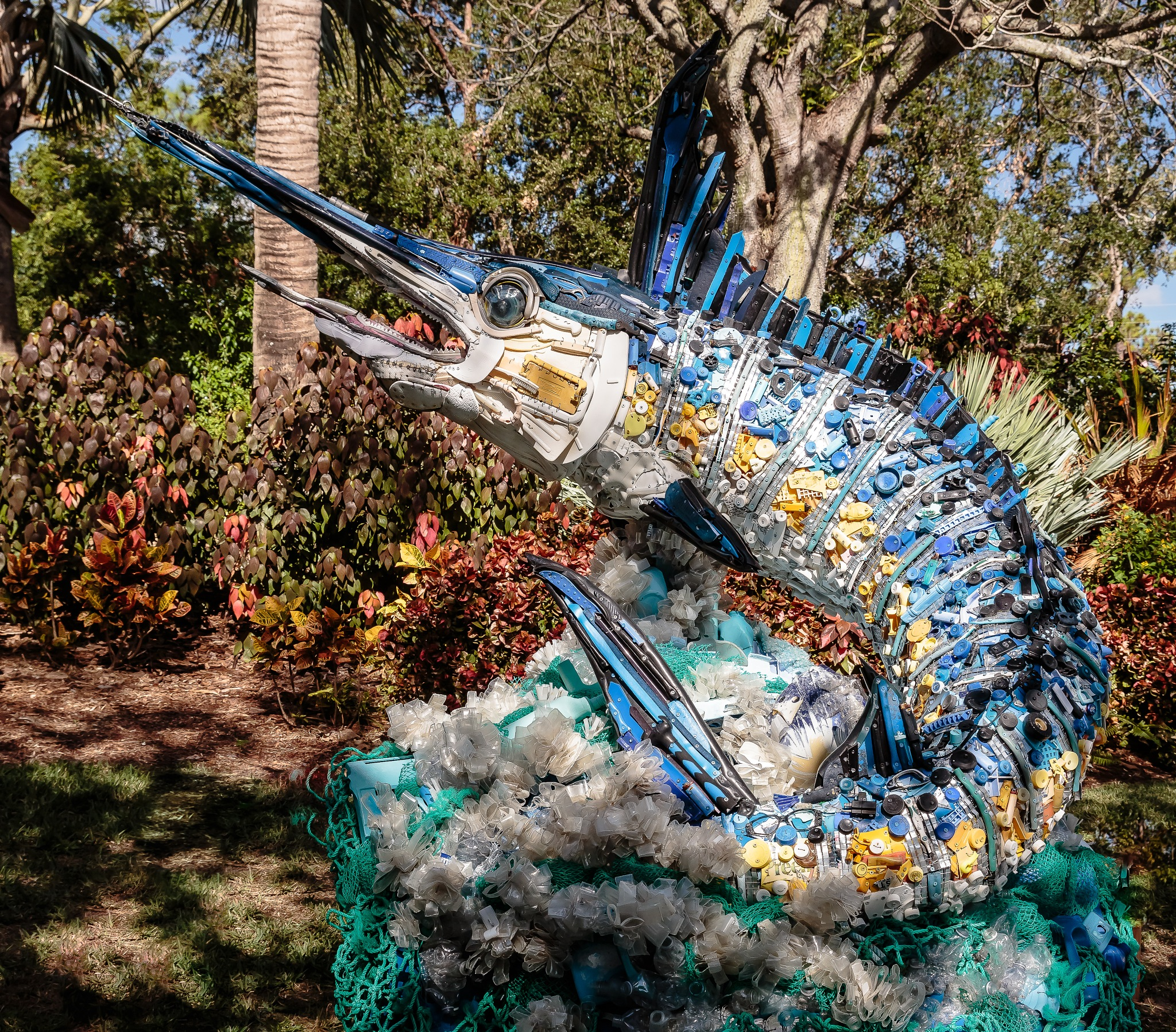 Washed Ashore - Blue Marlin by MaryBethMenden
