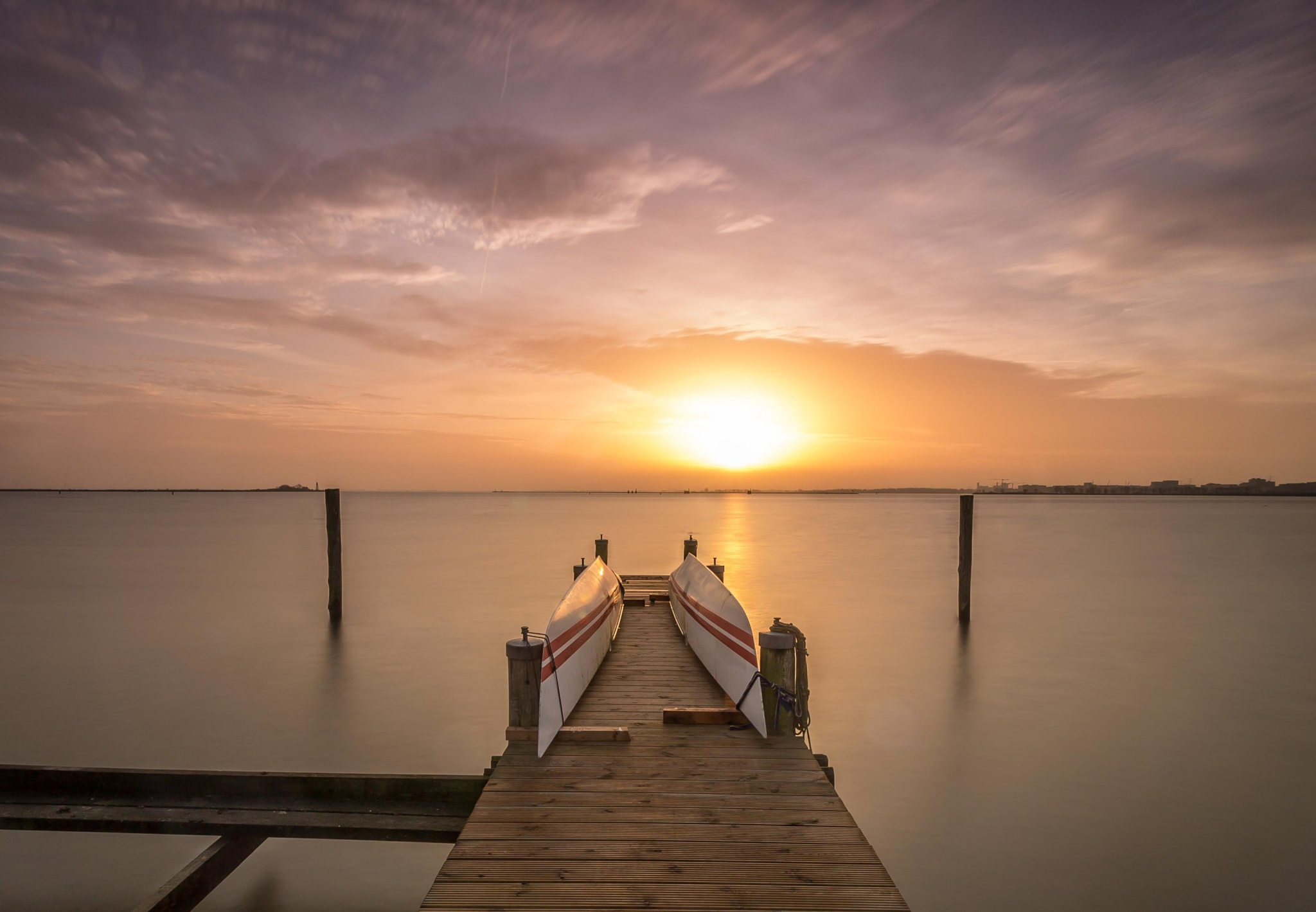 Another jetty at Durgerdam by Stef van Winssen