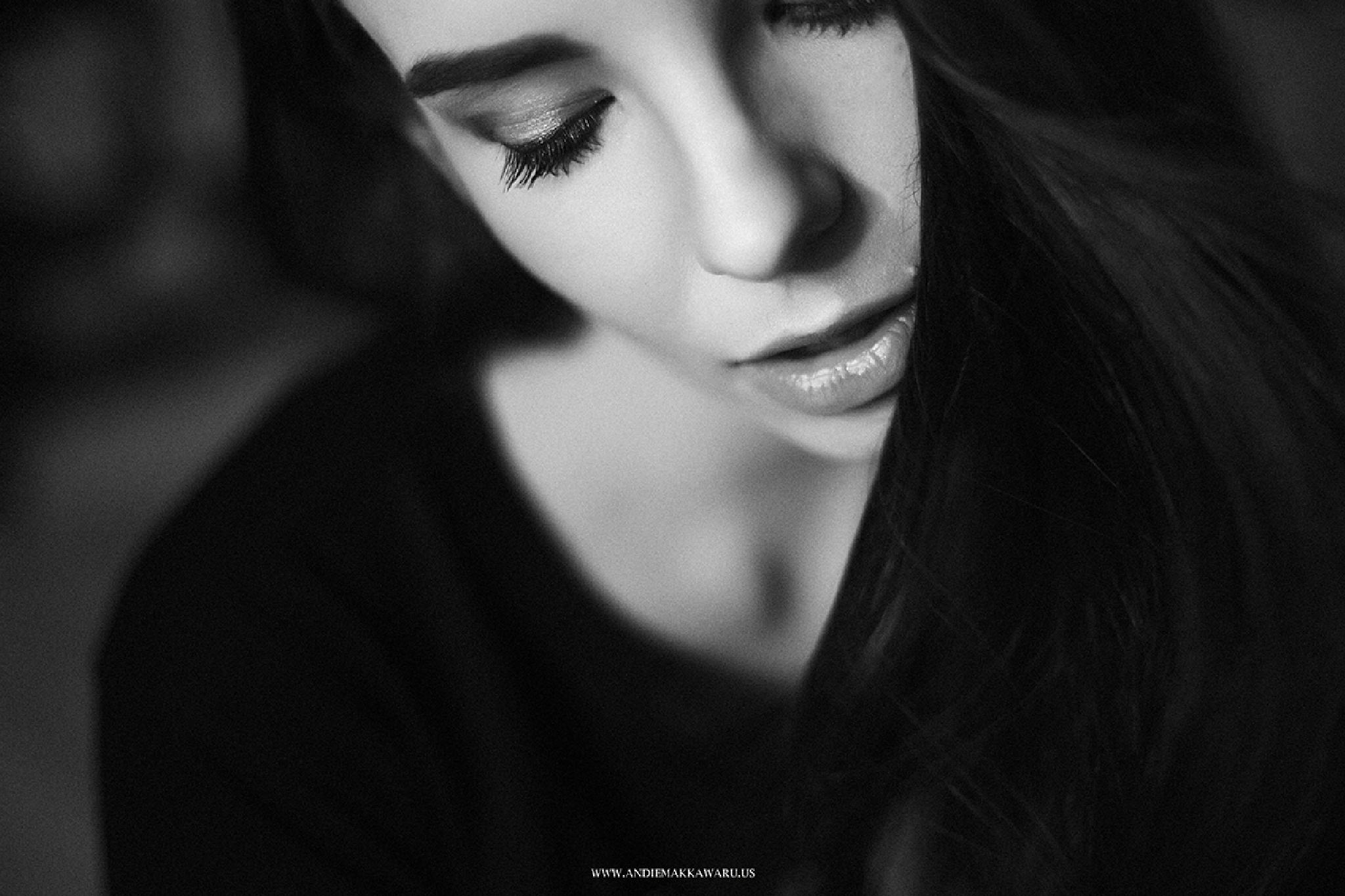 Photo in Fashion #bw #blackandwhite #portrait #mood #andiemakkawaru #monochrome #model #belarusian #girl #pretty
