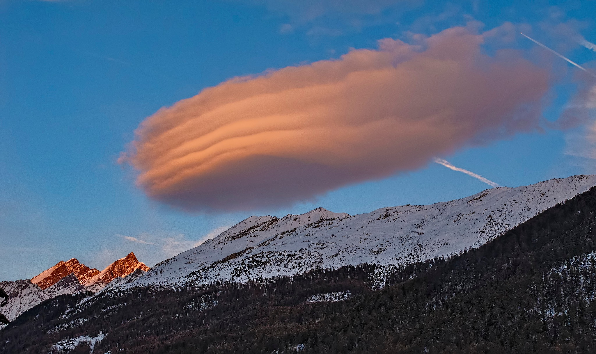 Another Alpenglow by Herbert Stachelberger