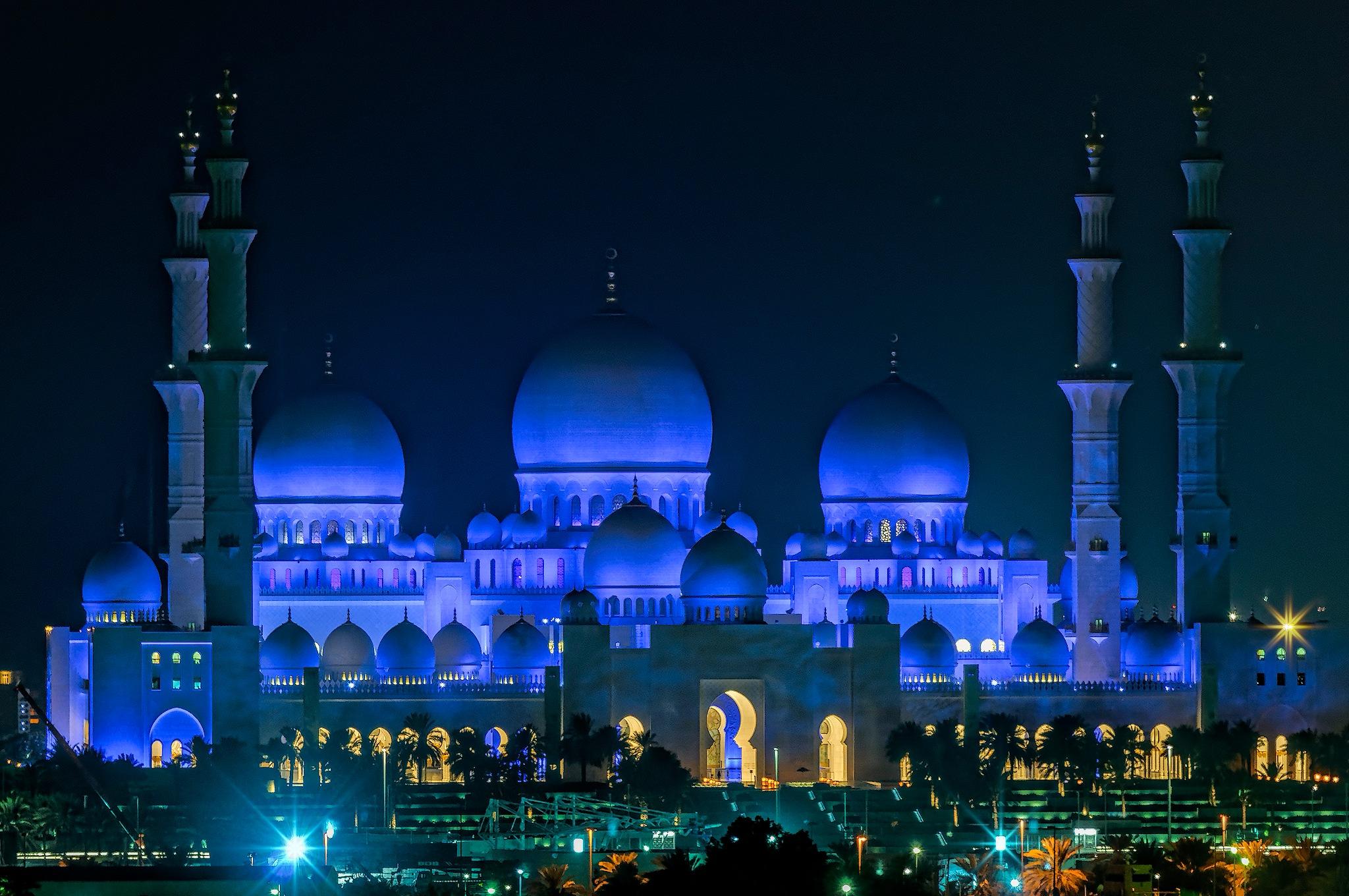 The Mosque by Herbert Stachelberger