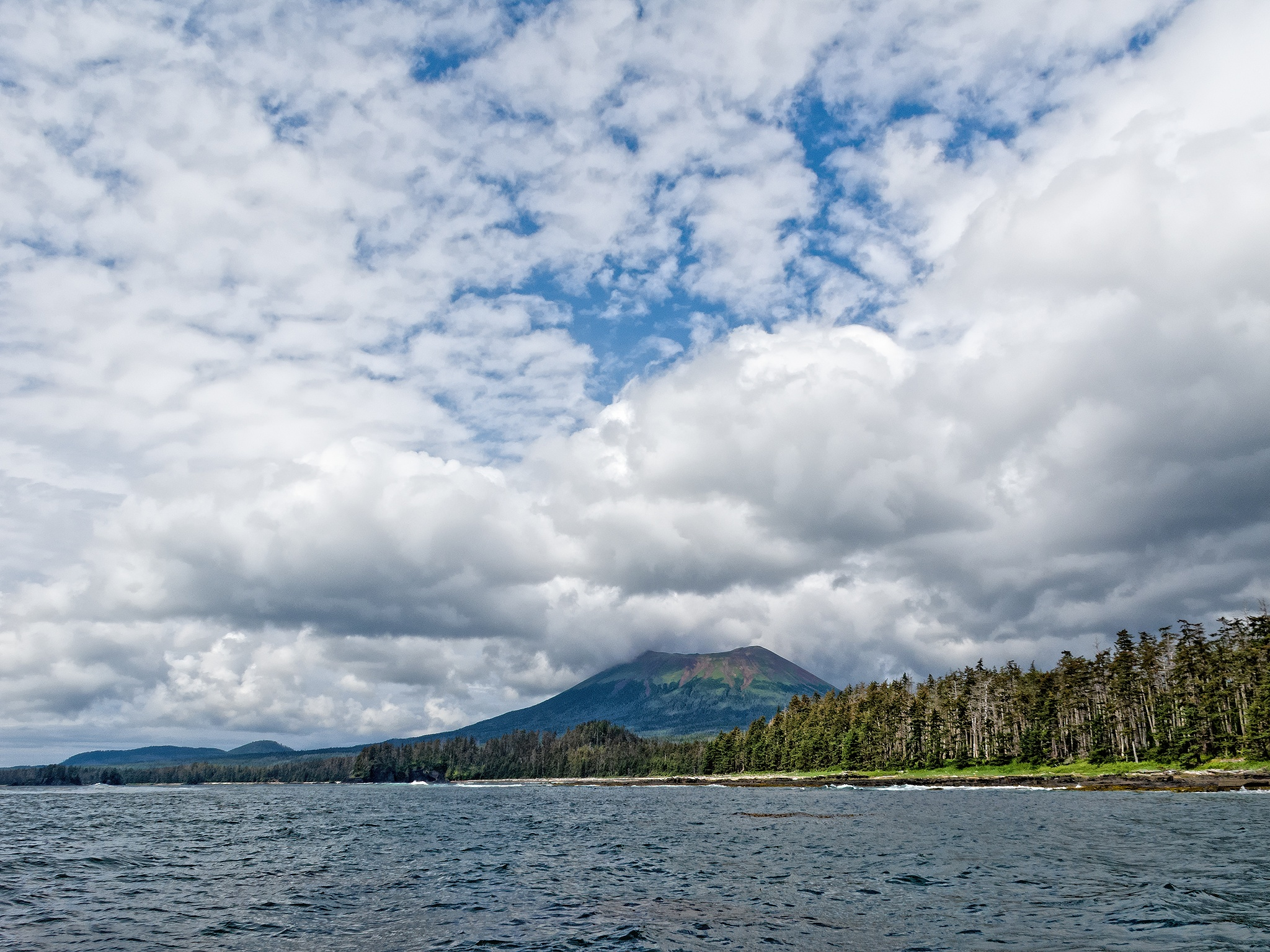 Sitka Cloudscape by Herbert Stachelberger