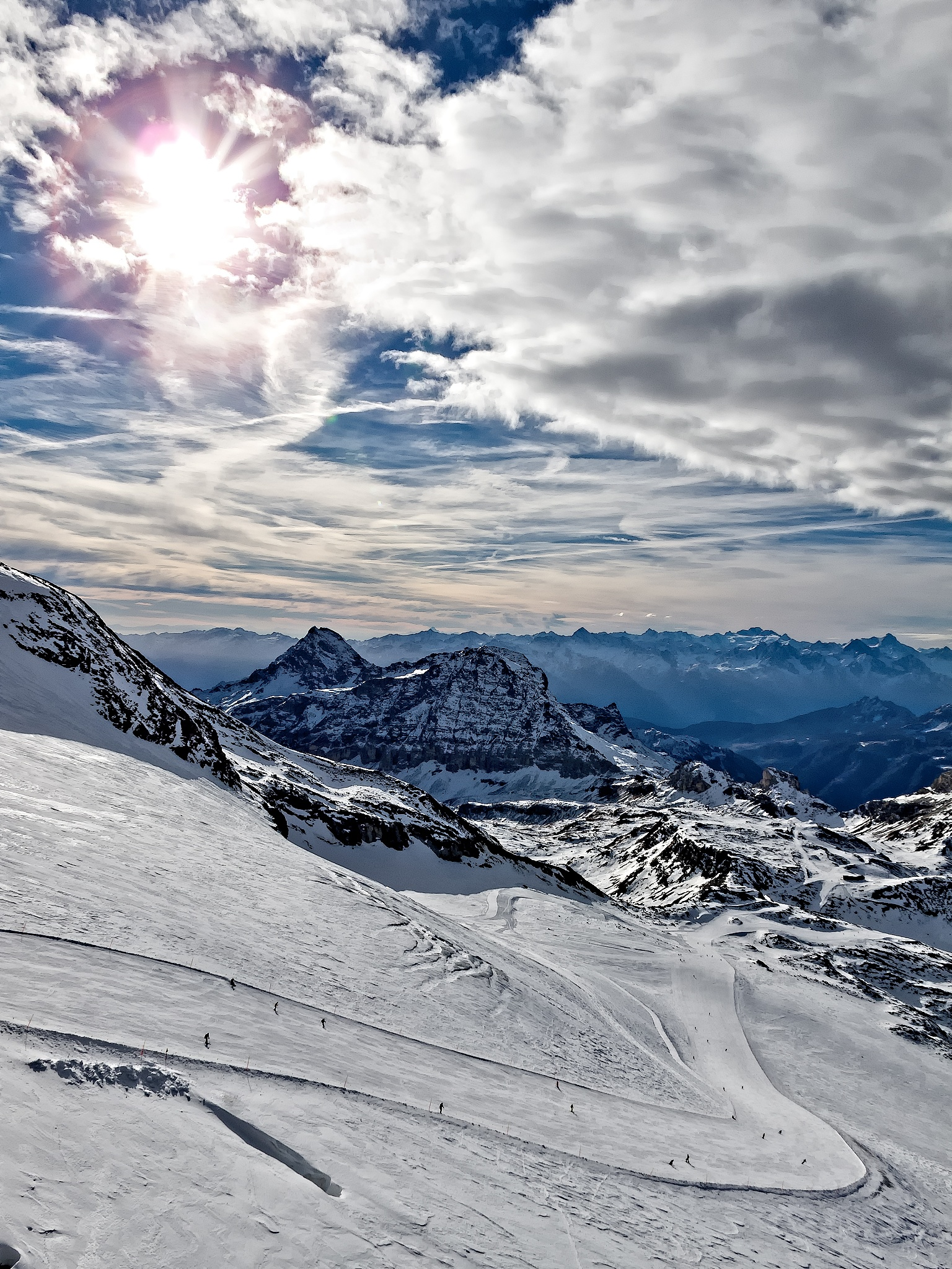 It's all about skiing! by Herbert Stachelberger