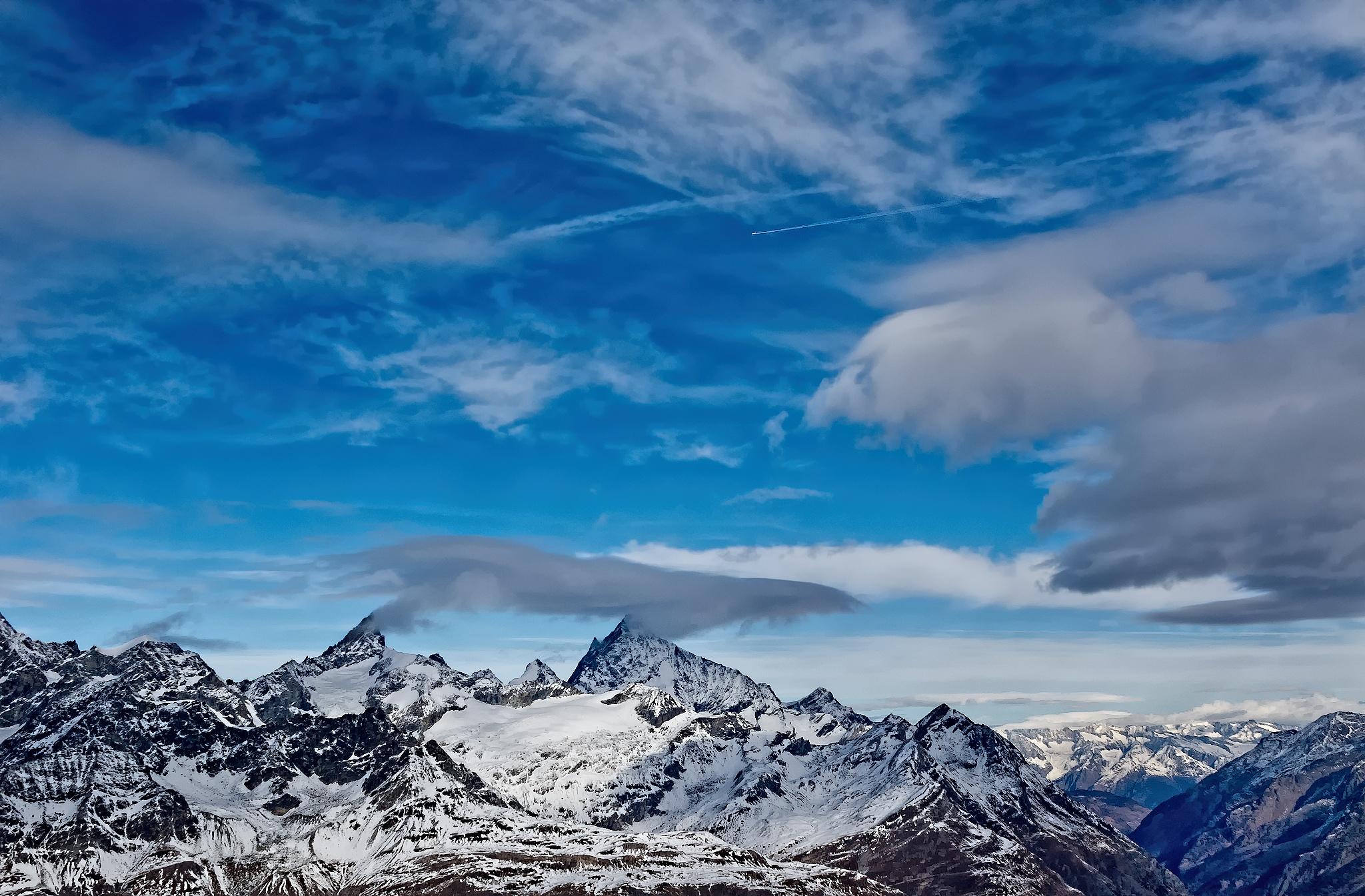 Cloudscape by Herbert Stachelberger