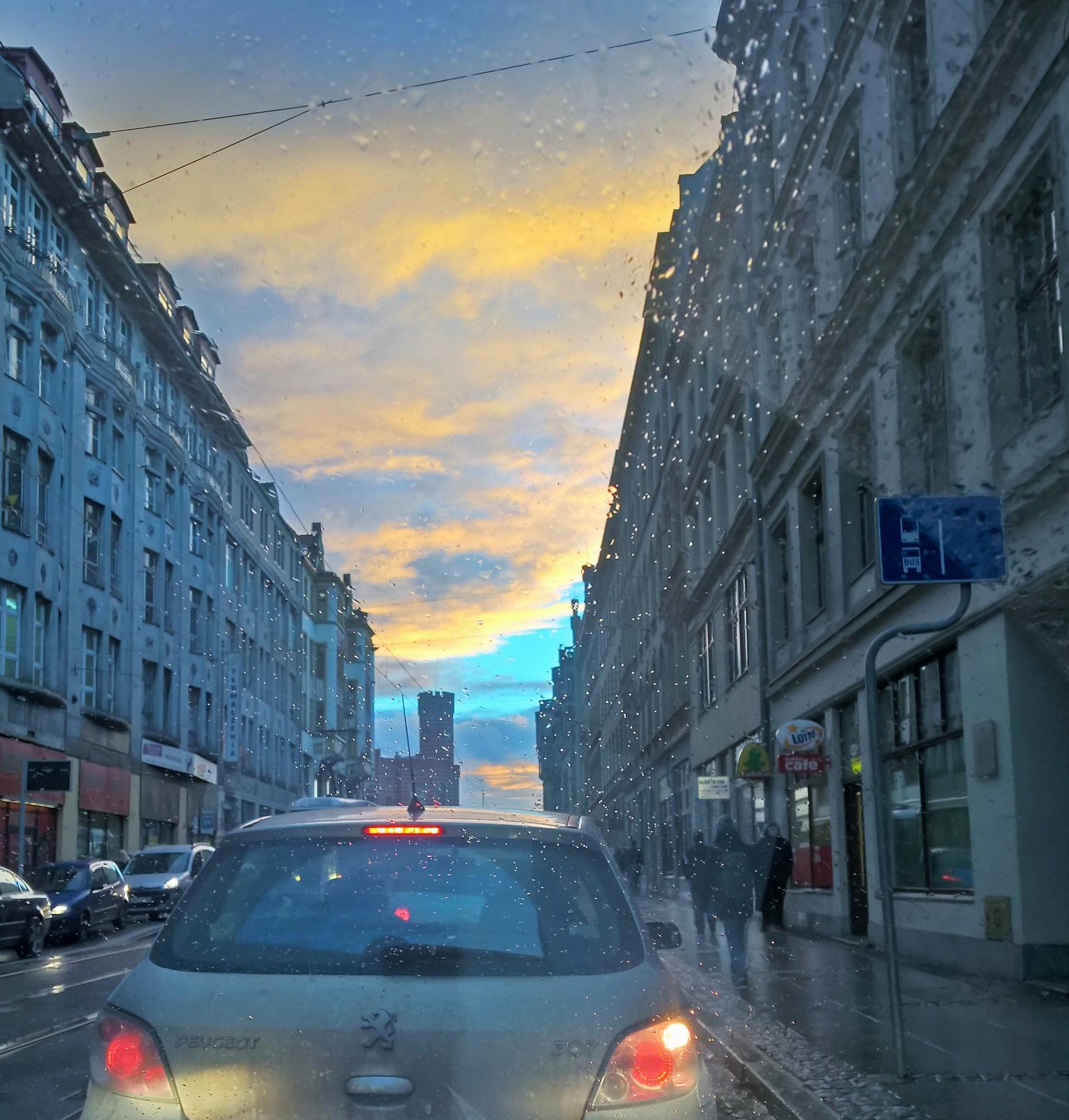 in traffic jam  by Robert Jurczyk