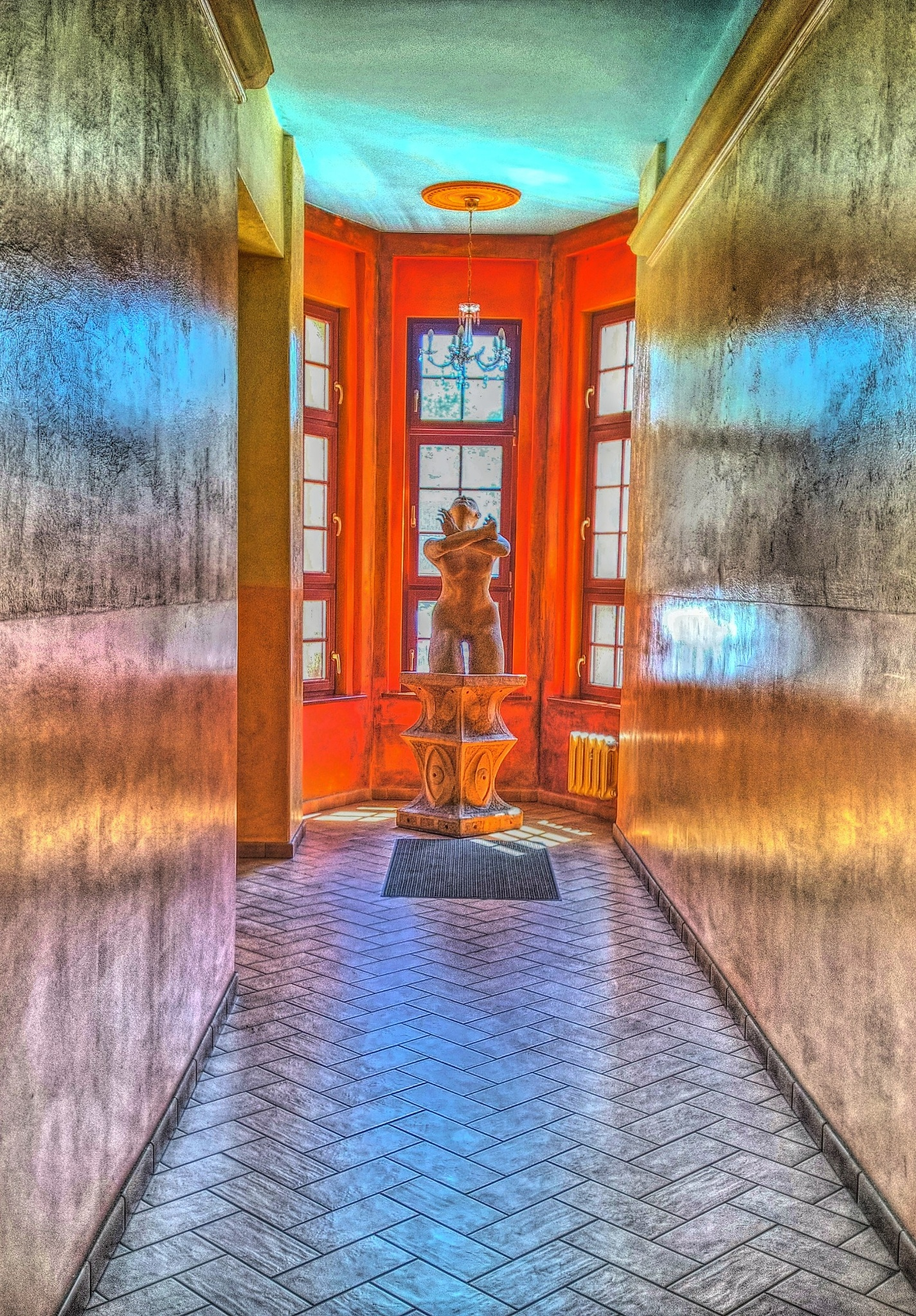 inside the hall by Robert Jurczyk