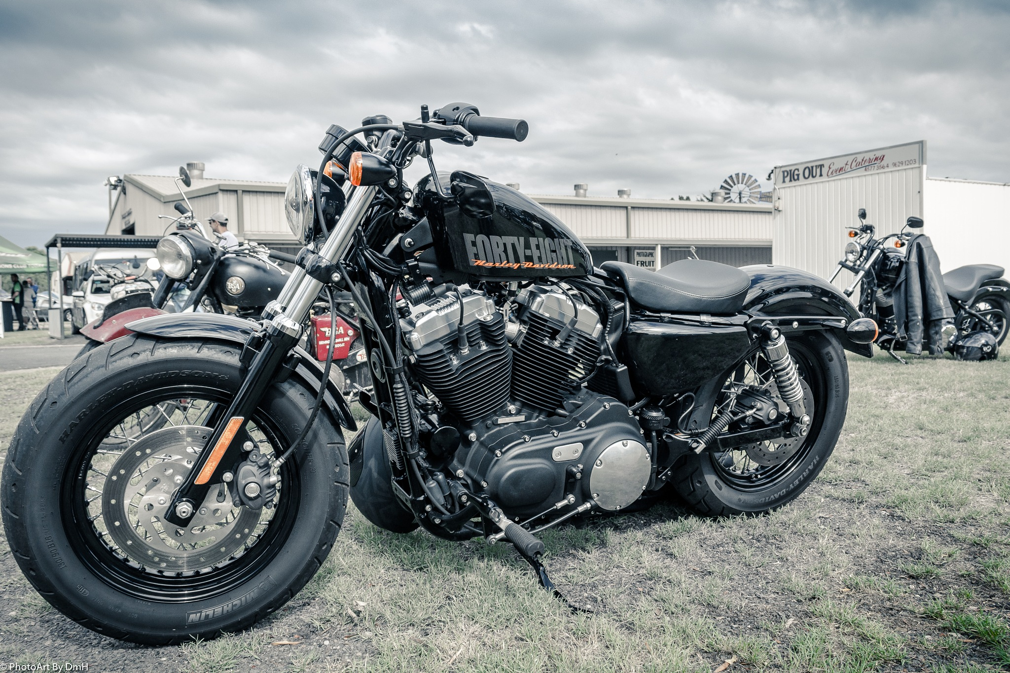 Harley Davidson.  by PhotoArt By DmH