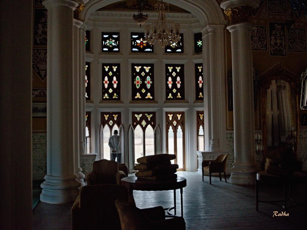 Inside Bangalore Palace by Radhamadhavan K S