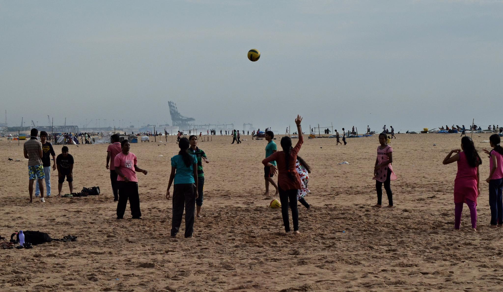 Beach by Radhamadhavan K S