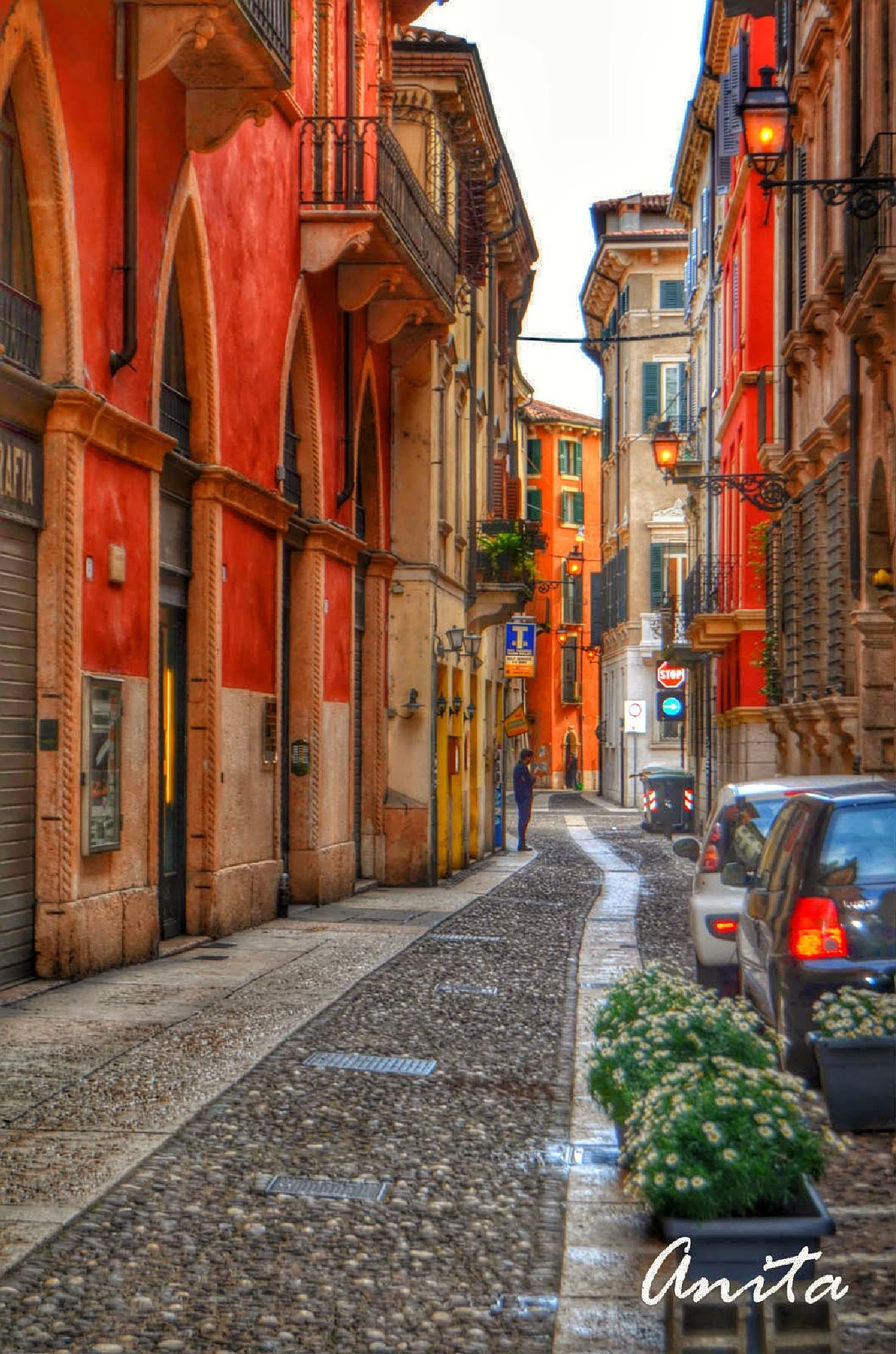 Down the street by estellien9