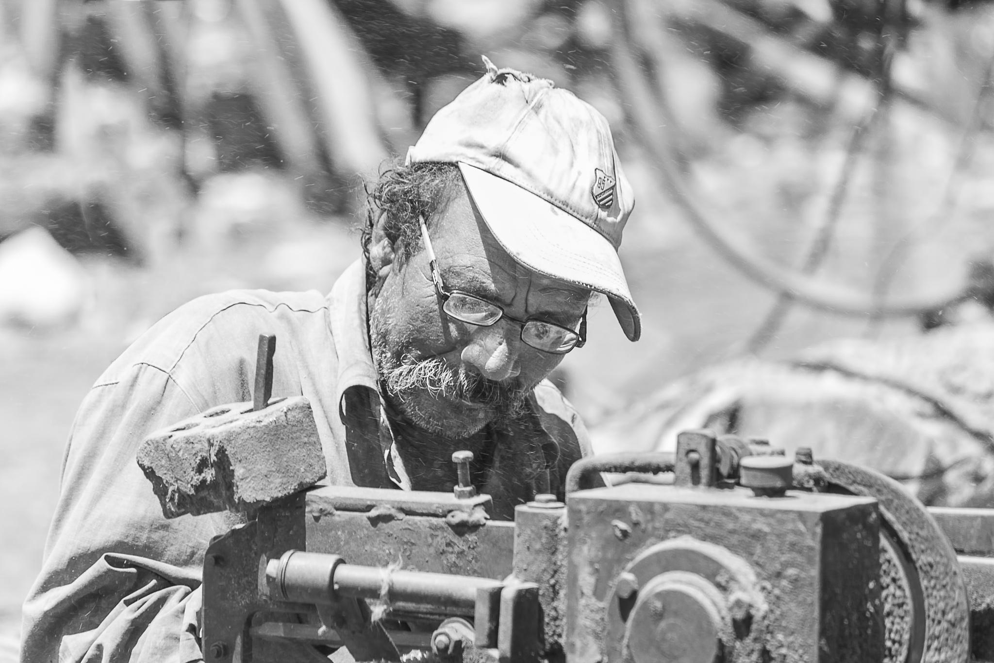 working hard by AymanMuhammad