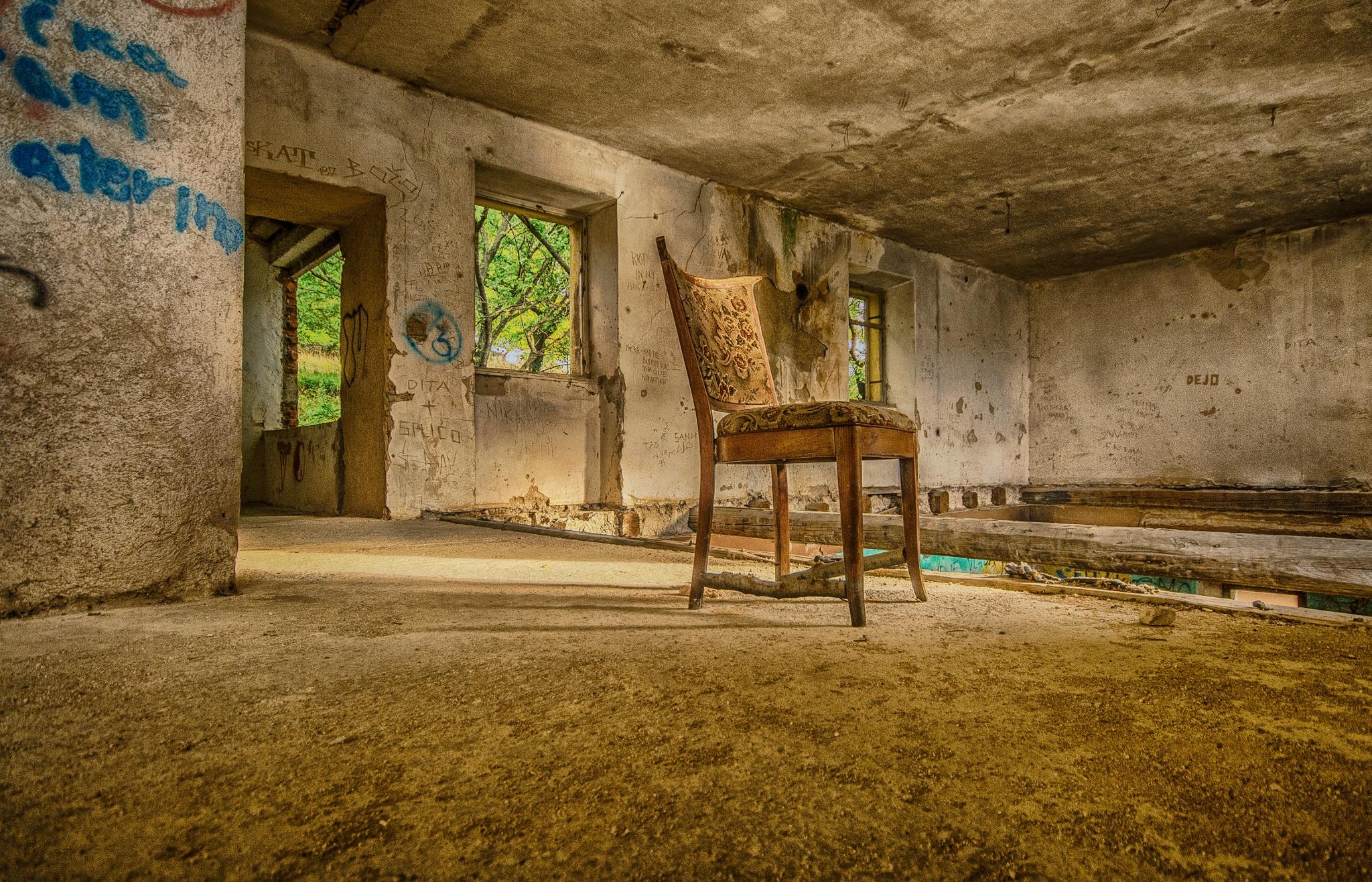 chair by Eseker RI