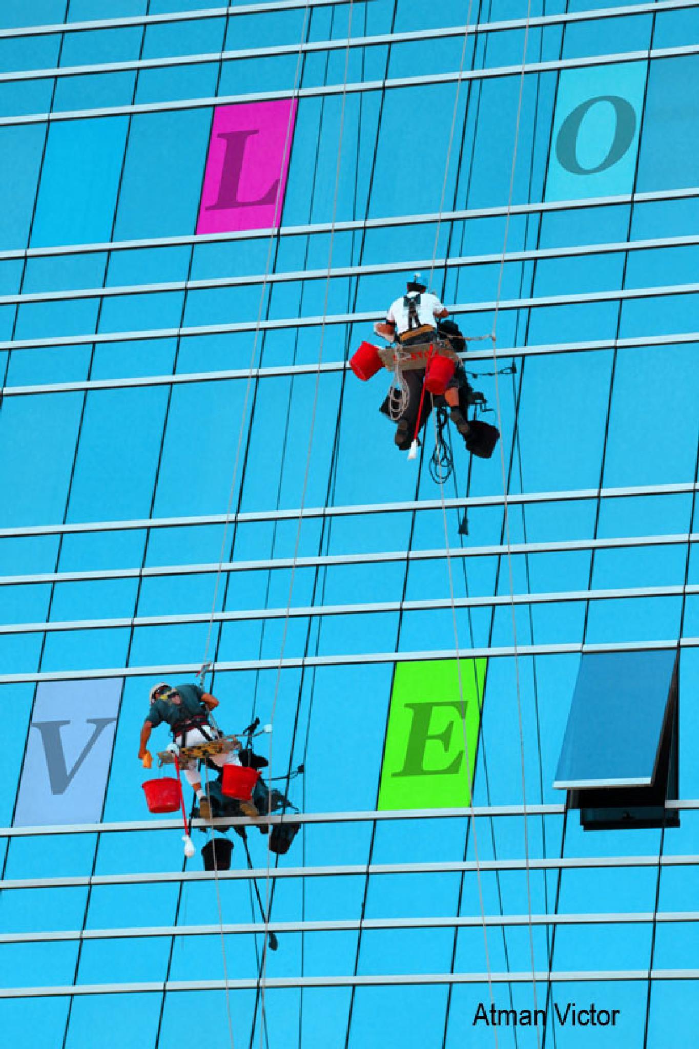 L O V E  by Atman Victor