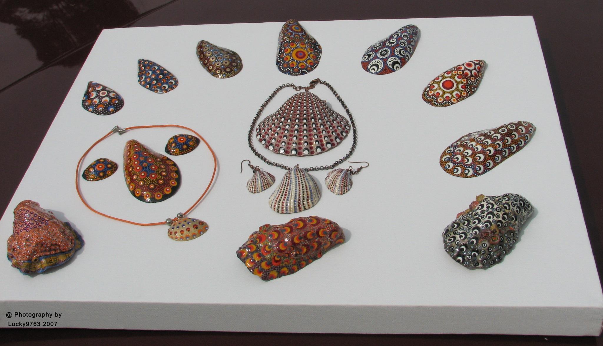 My Design on Shells 2007 by Attila Erdei