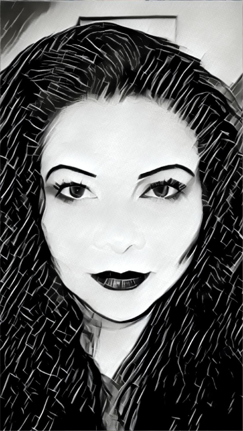 self portrait by Celyn Szoke