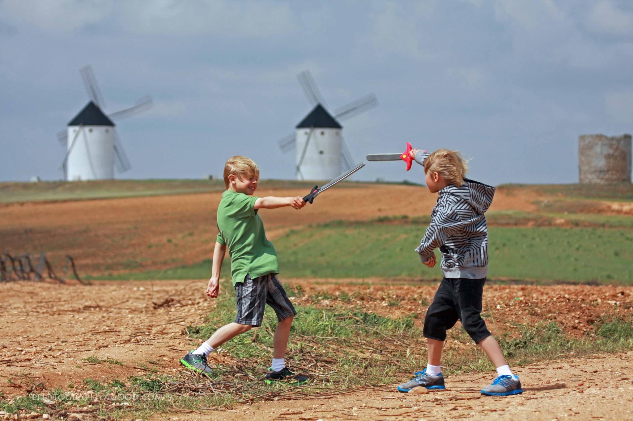 Los Niños de la Mancha by John_Ediger
