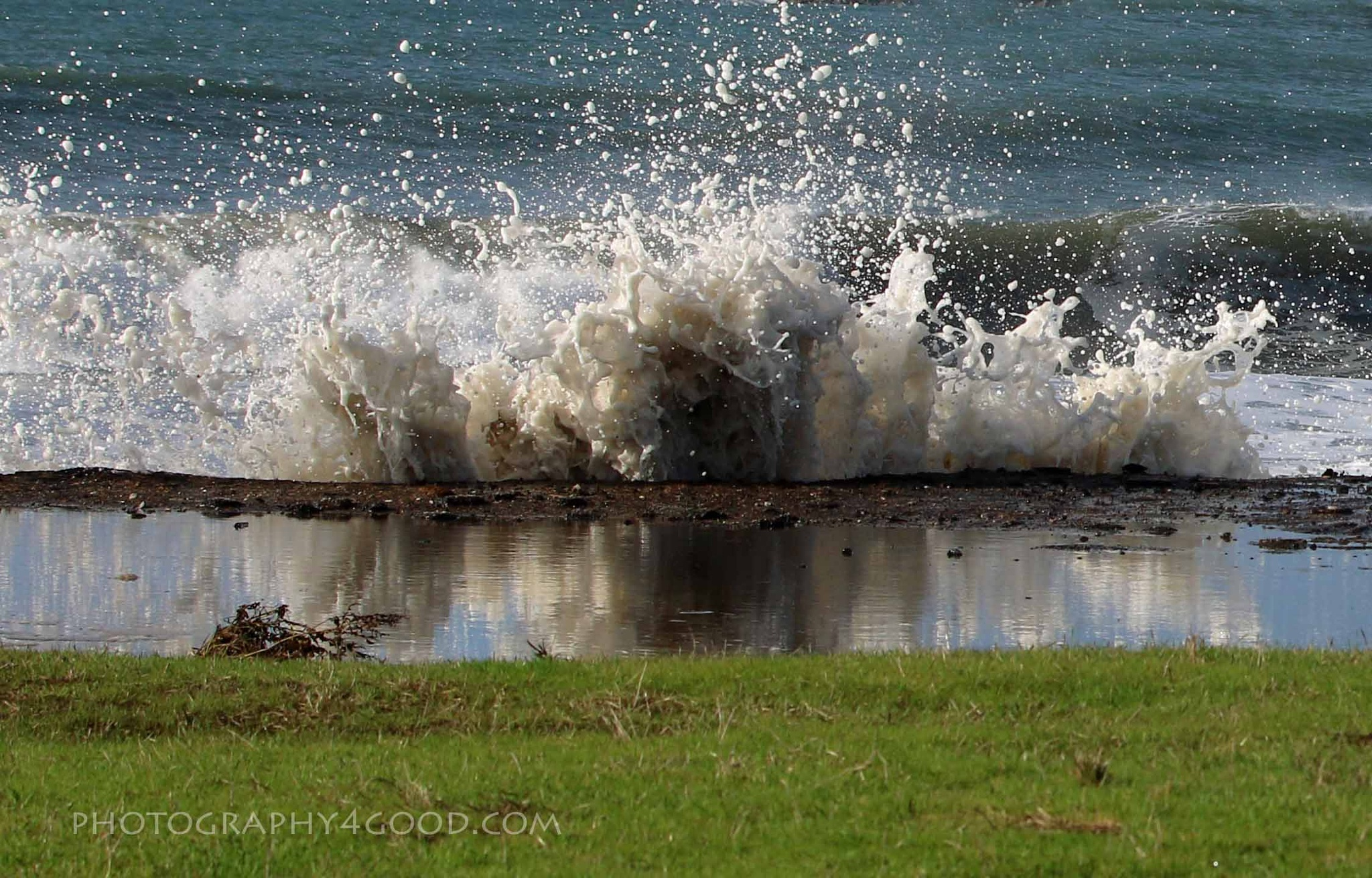 King tide at Miramar Beach Cliffs by John_Ediger