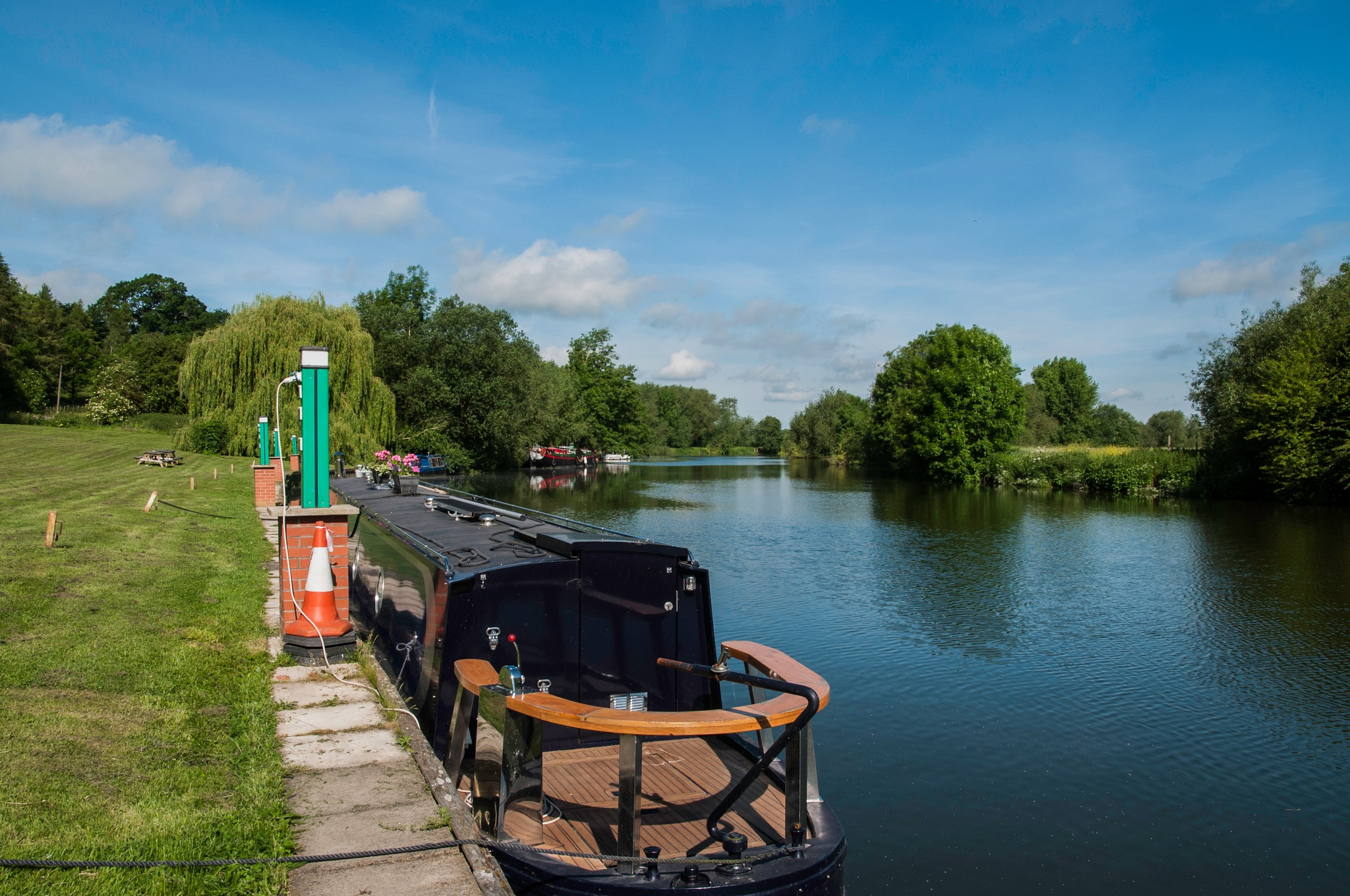 River Thames at Shillingford by Jim Hellier