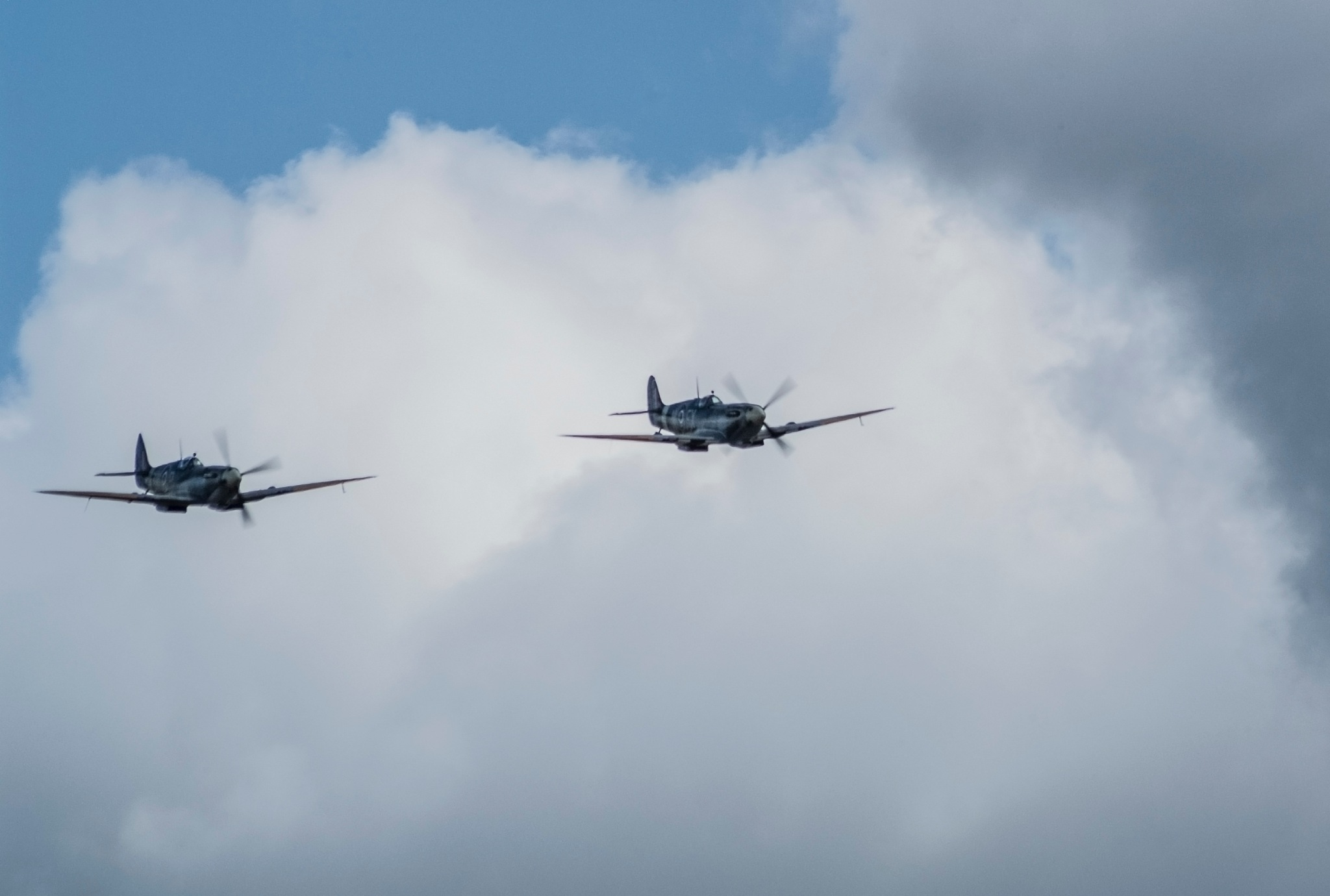 Spitfire flyby  by Jim Hellier