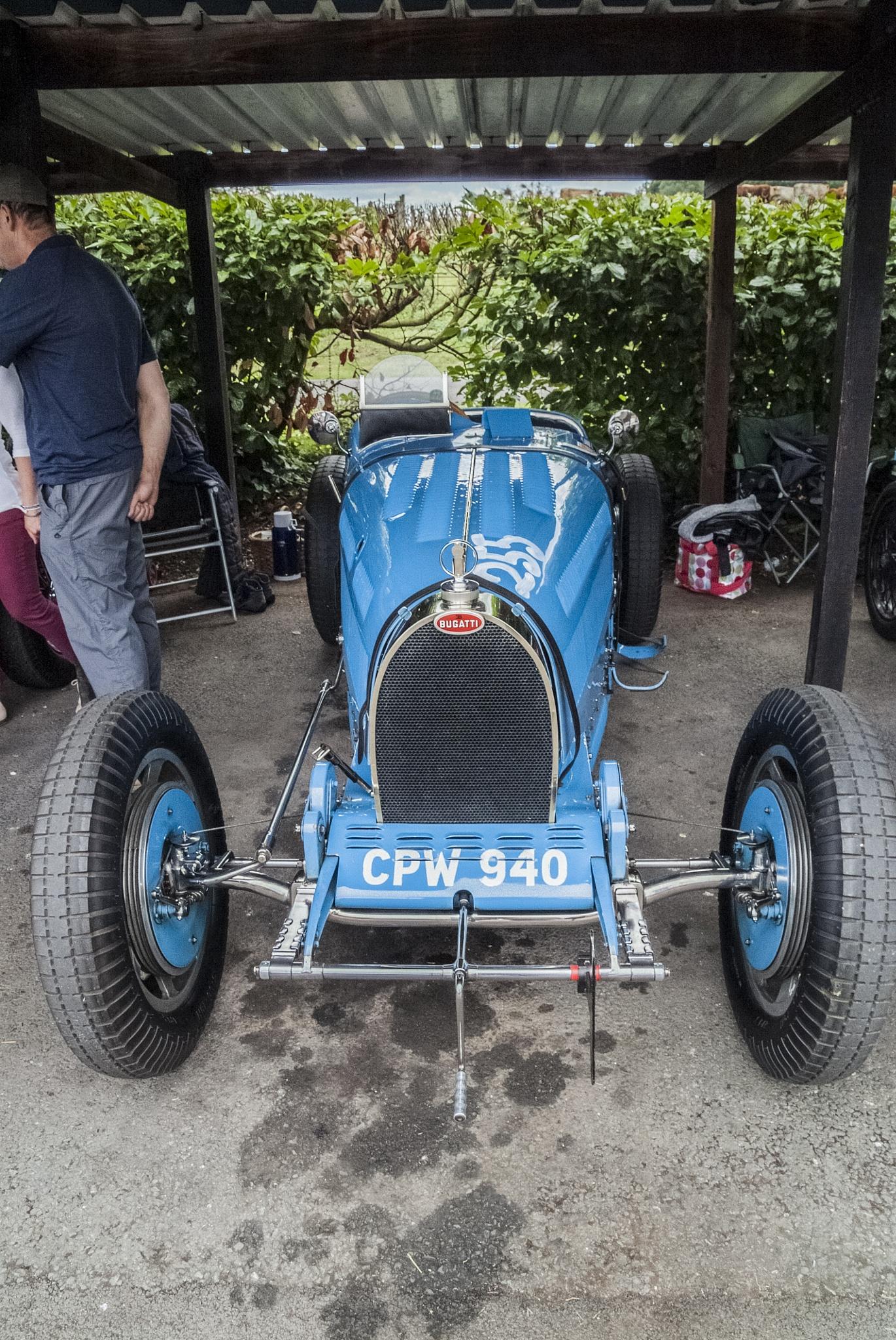 Bugatti type 35B  by Jim Hellier