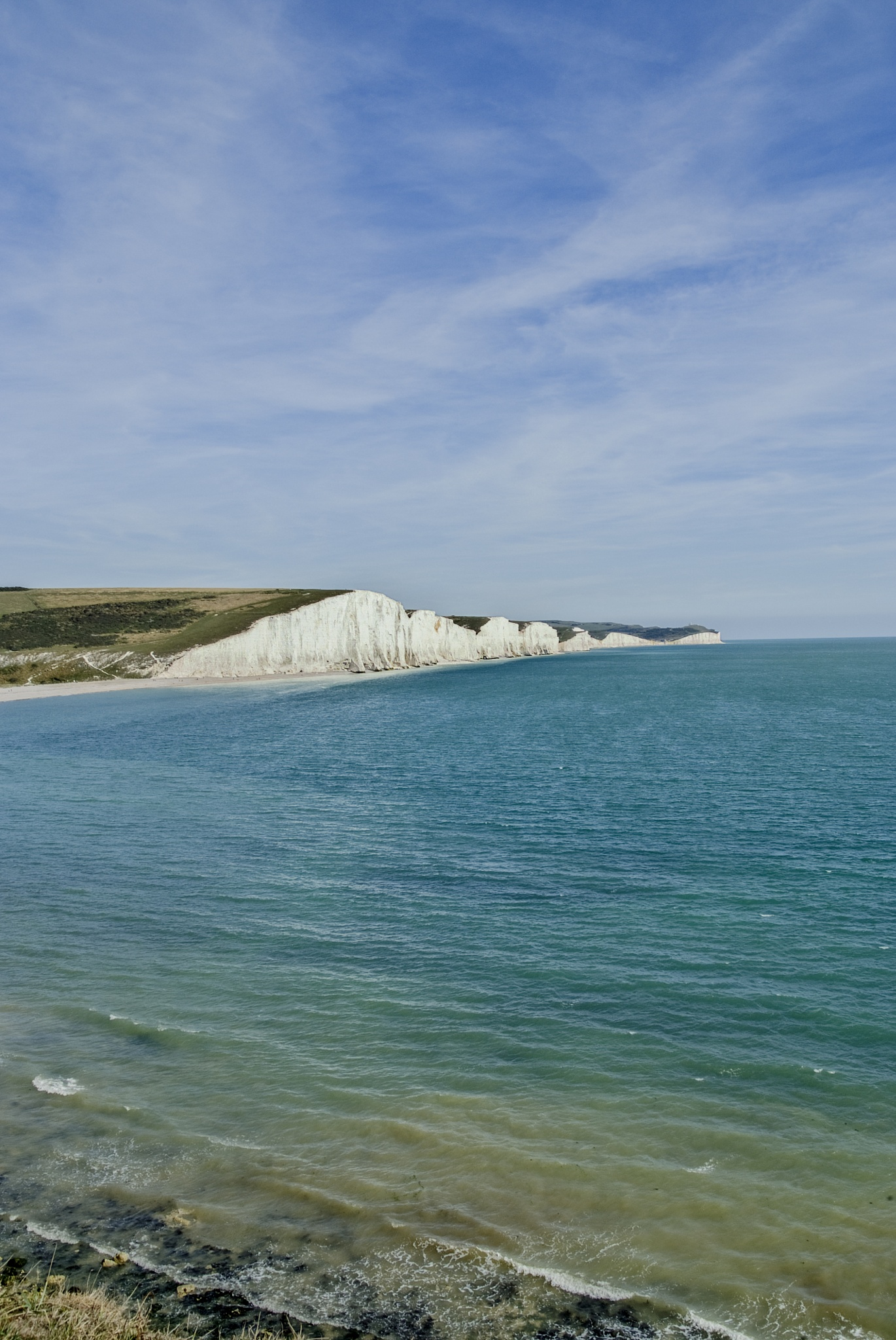 White Cliffs of Sussex by Jim Hellier