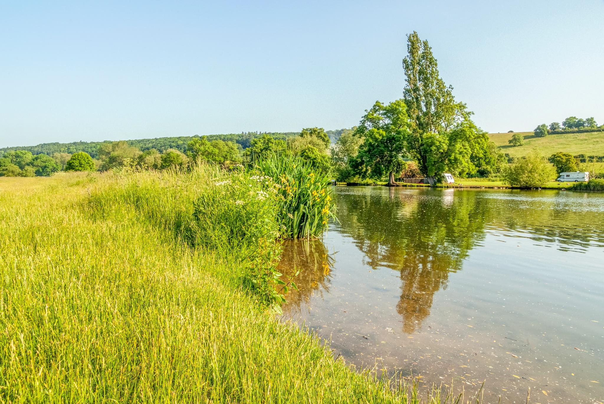 Mapledurham by Jim Hellier