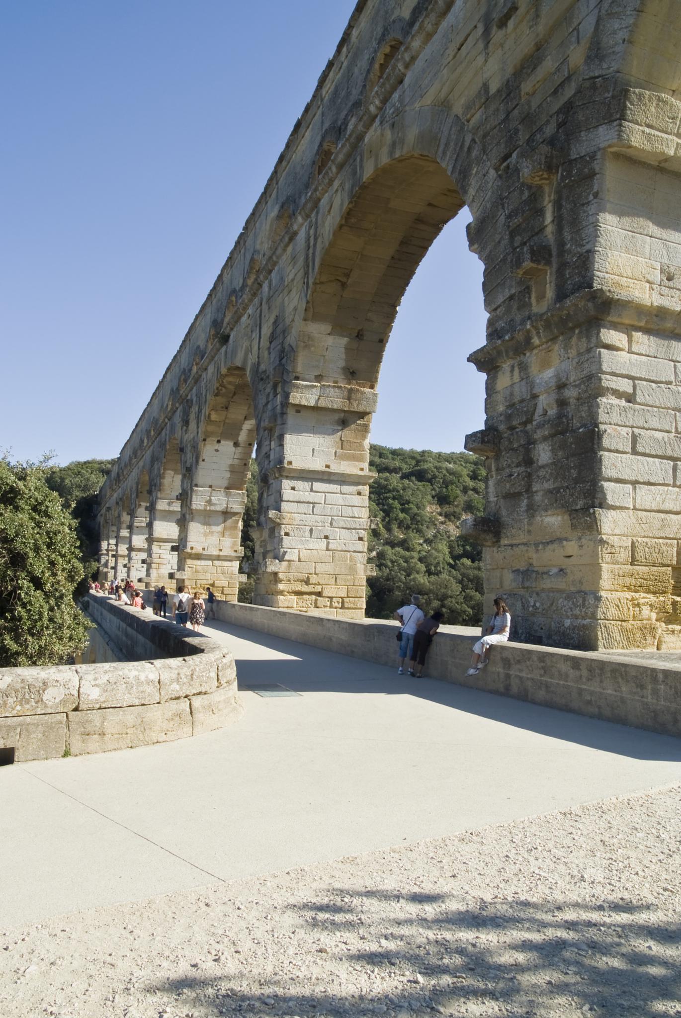 Pont Du Gard Ardeche  by Jim Hellier