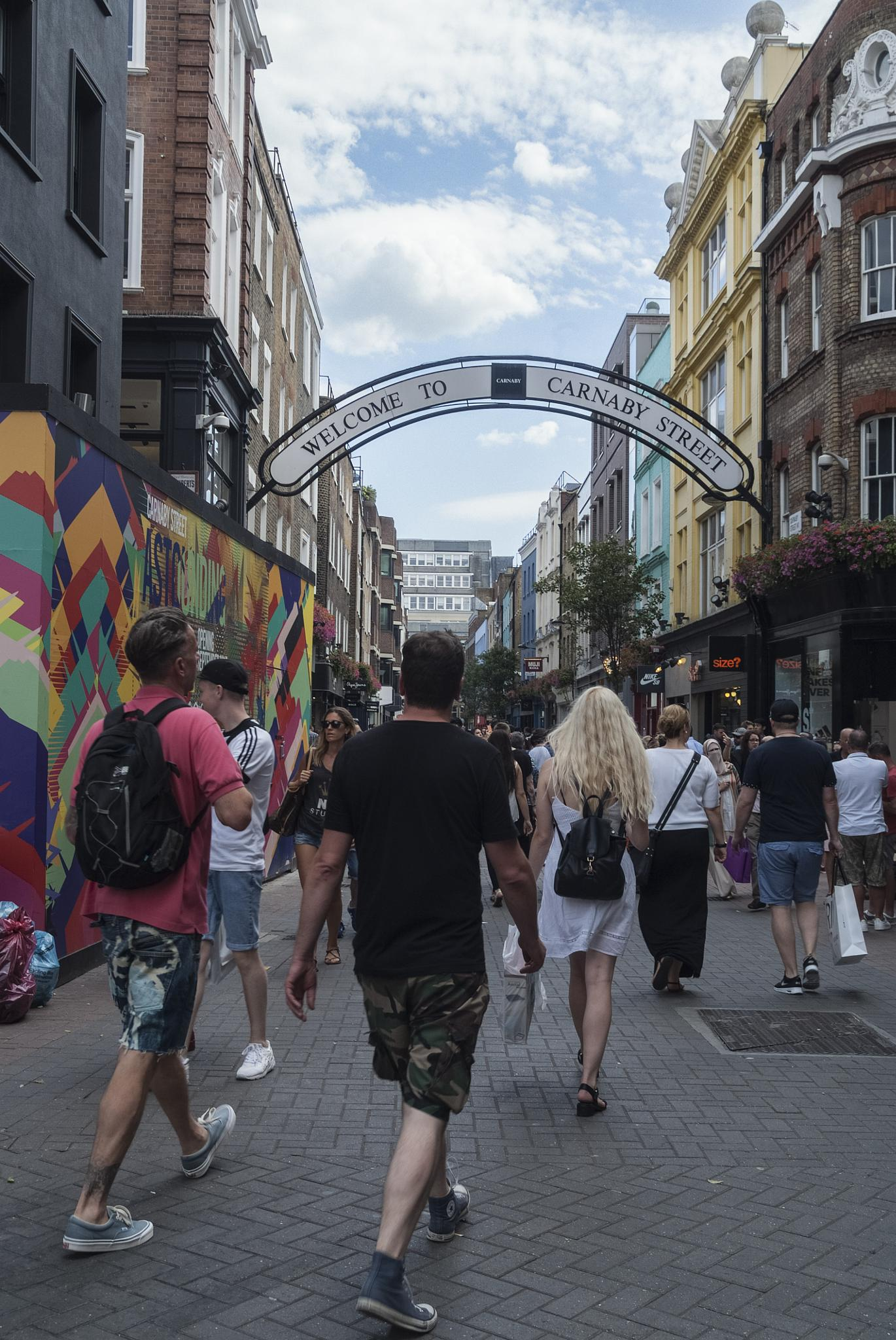 Carnaby Street London by Jim Hellier