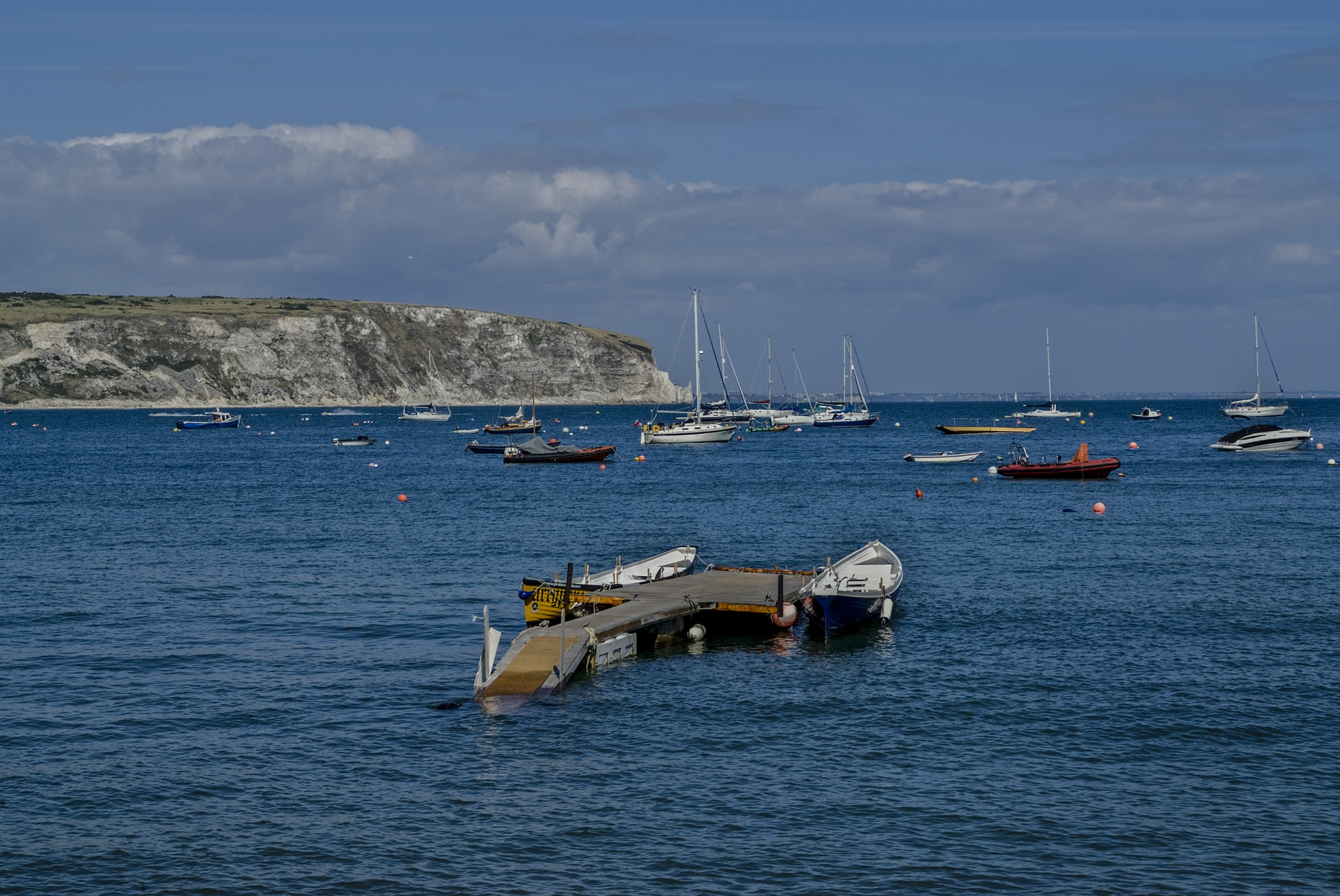 Swanage Bay  by Jim Hellier