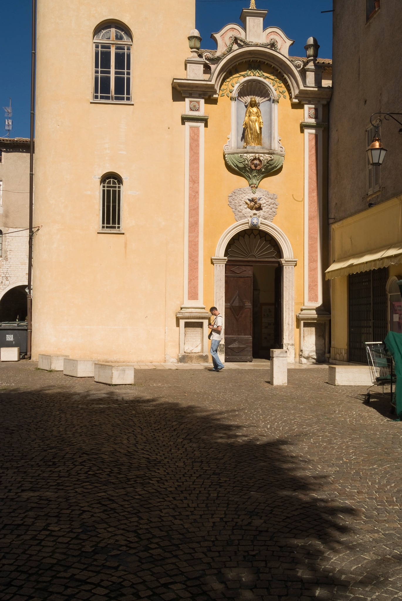 Church in Vence by Jim Hellier