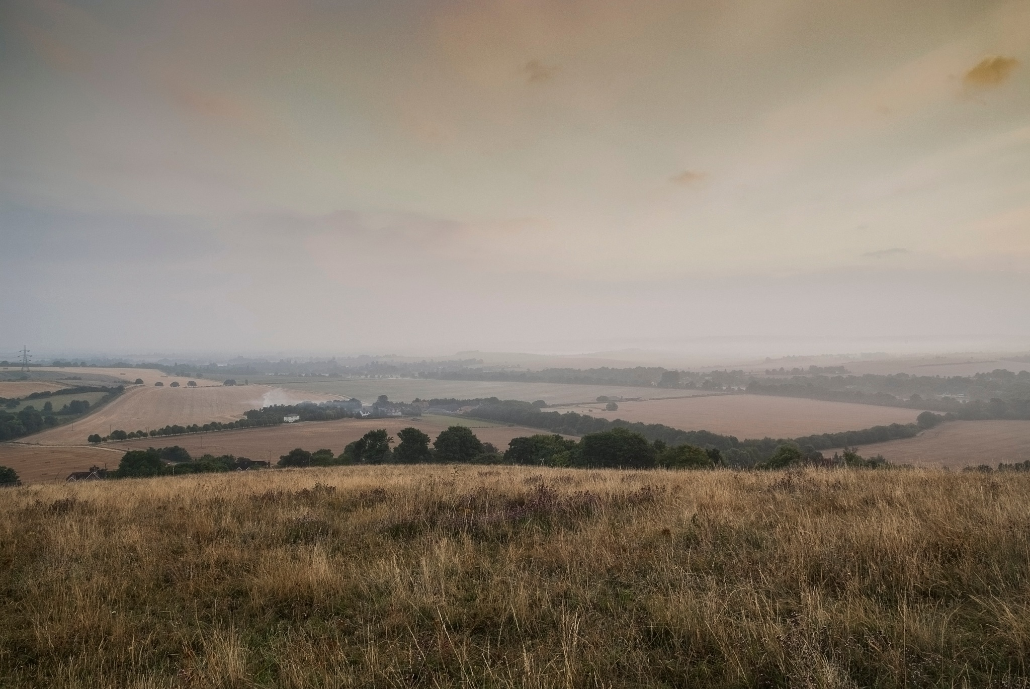 Thames Valley looking North by Jim Hellier