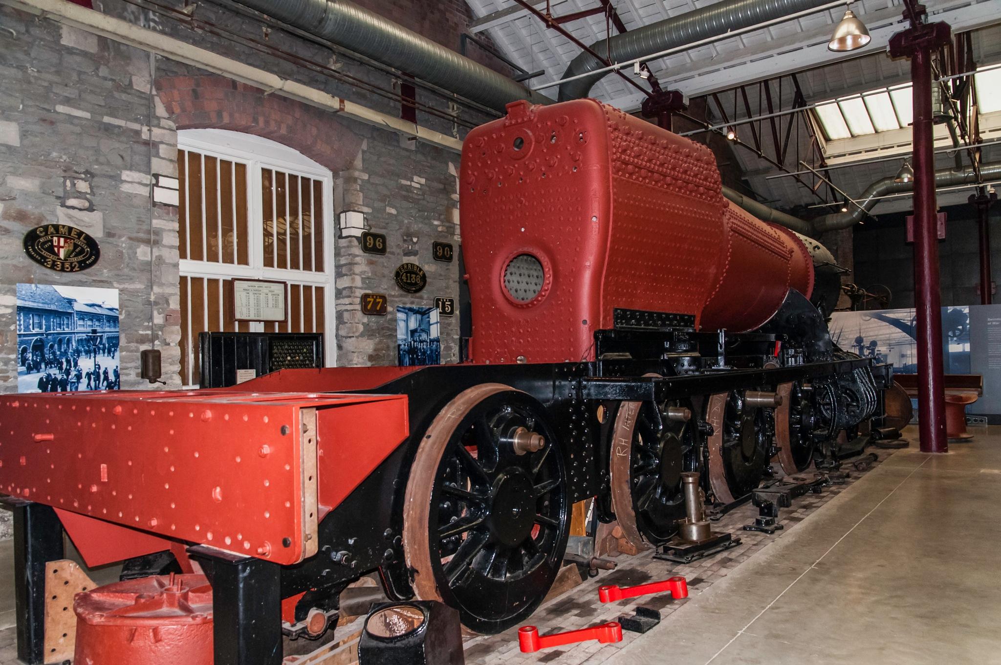 Great Western rail museum Swindon  by Jim Hellier
