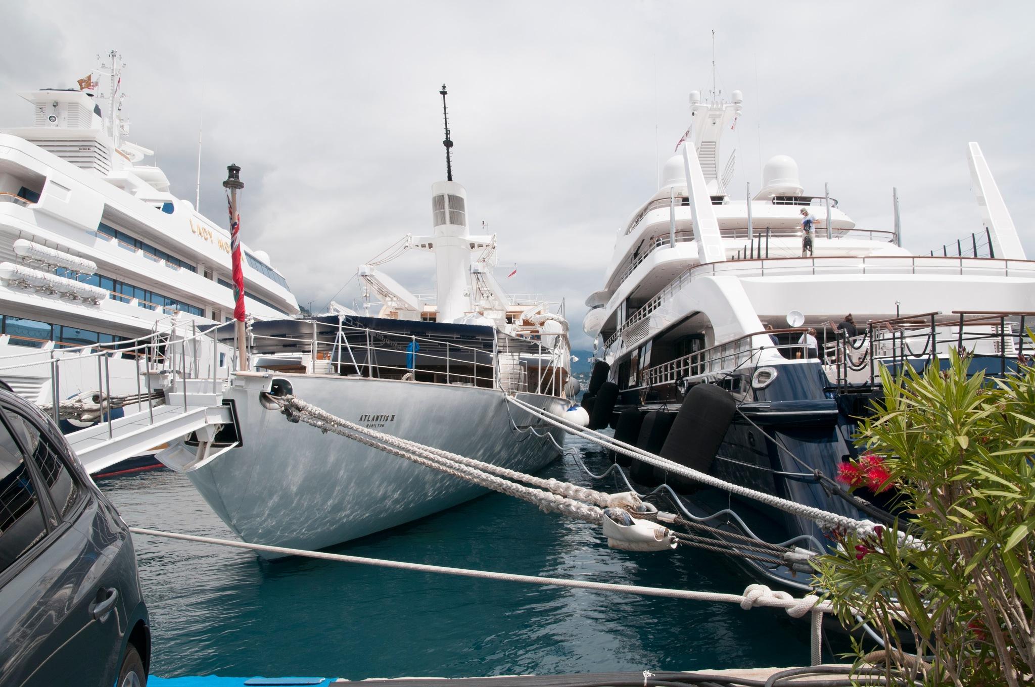 Monaco Yachts  by Jim Hellier
