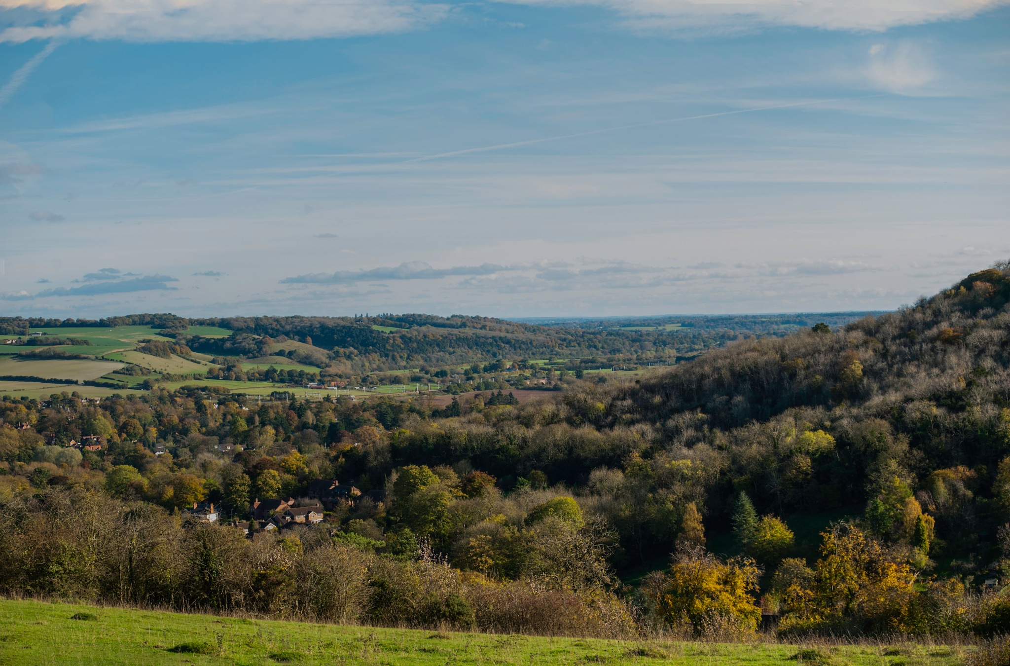 Autumn in the Thames valley and Chilterns  by Jim Hellier