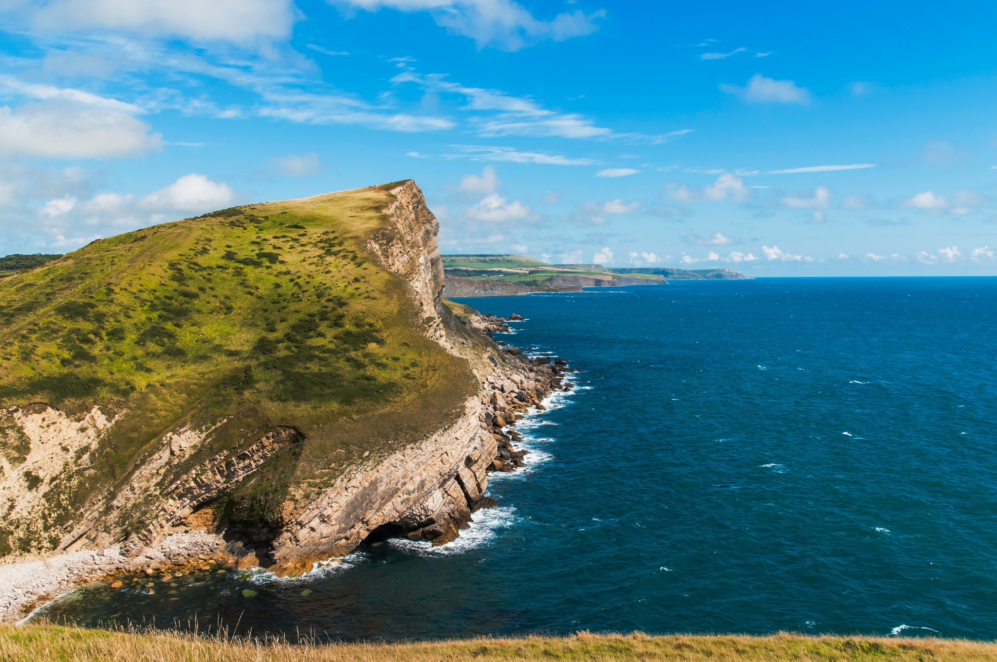 Jurassic coast by Jim Hellier