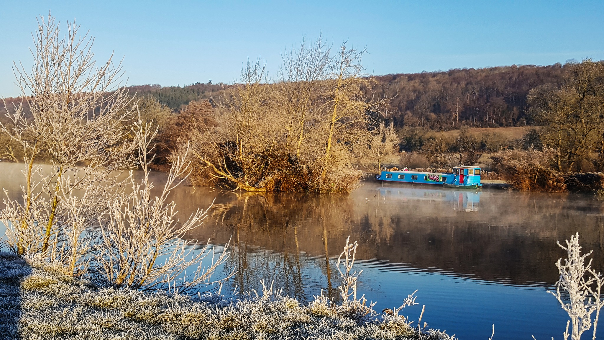 Winter in the Thames Valley by Jim Hellier
