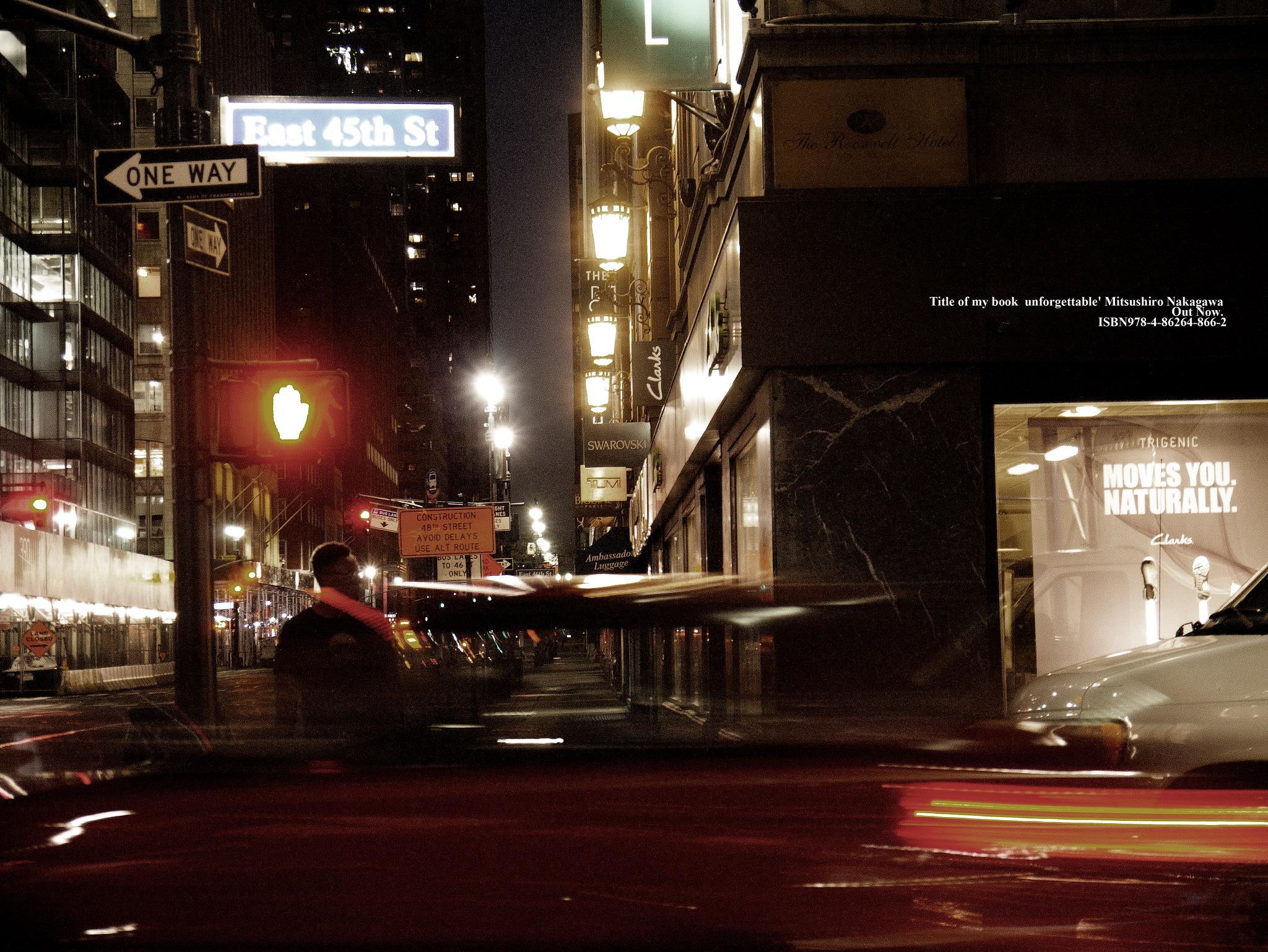 10 PM. Red and Red. by Mitsushiro Nakagawa
