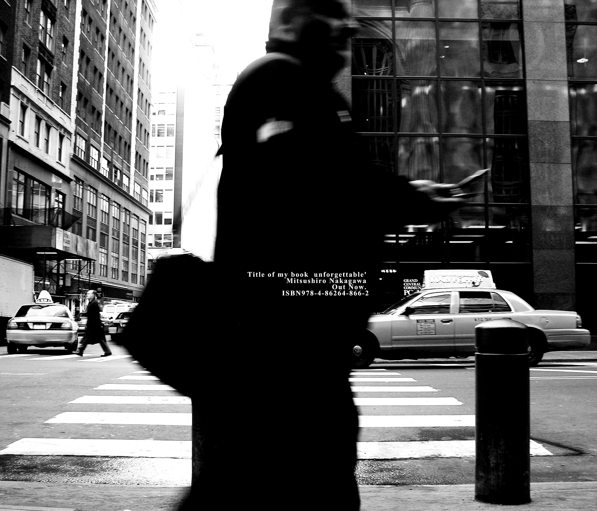 GPS in his hand. by Mitsushiro Nakagawa
