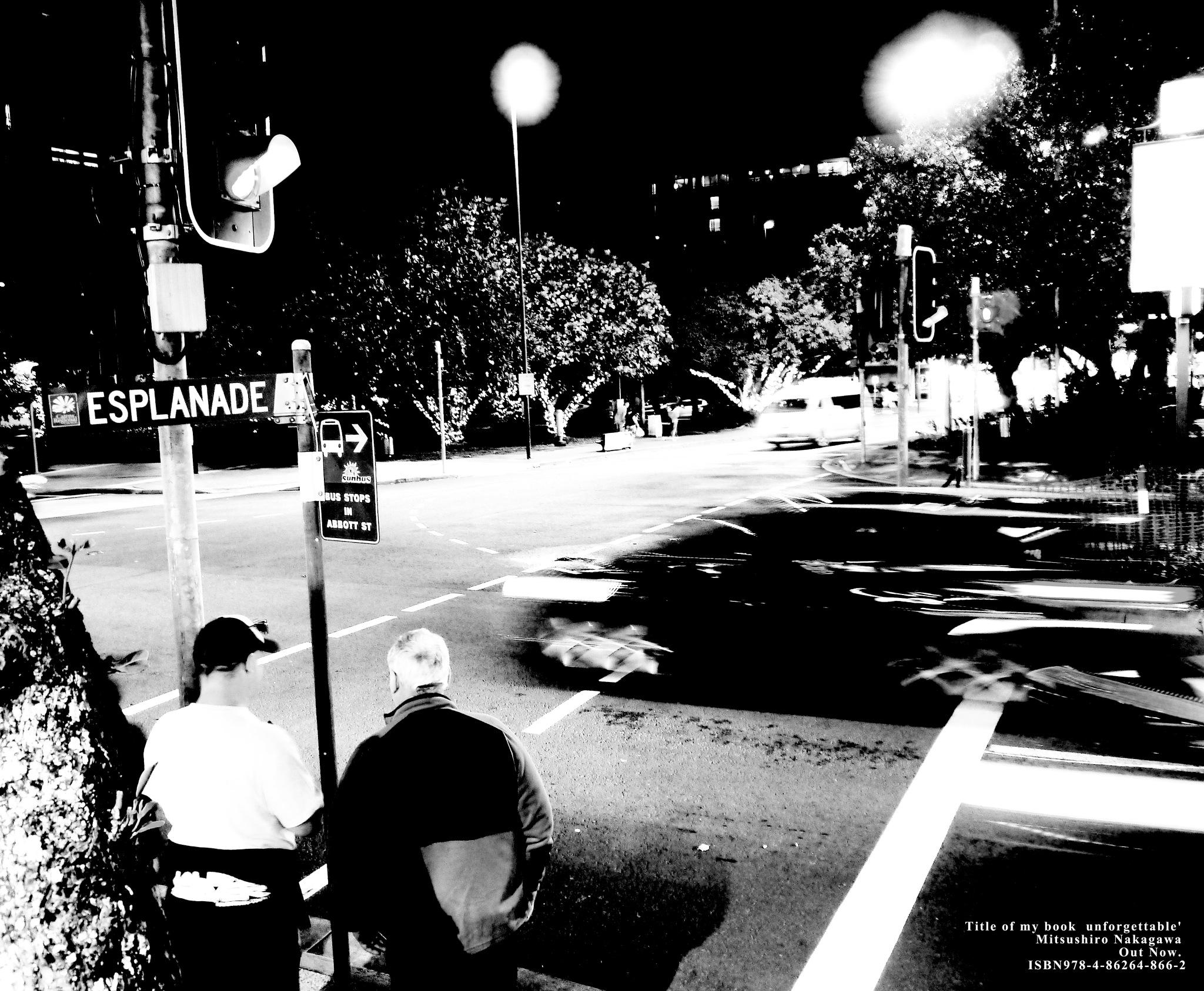 The crossroads of ESPLANADE. by Mitsushiro Nakagawa
