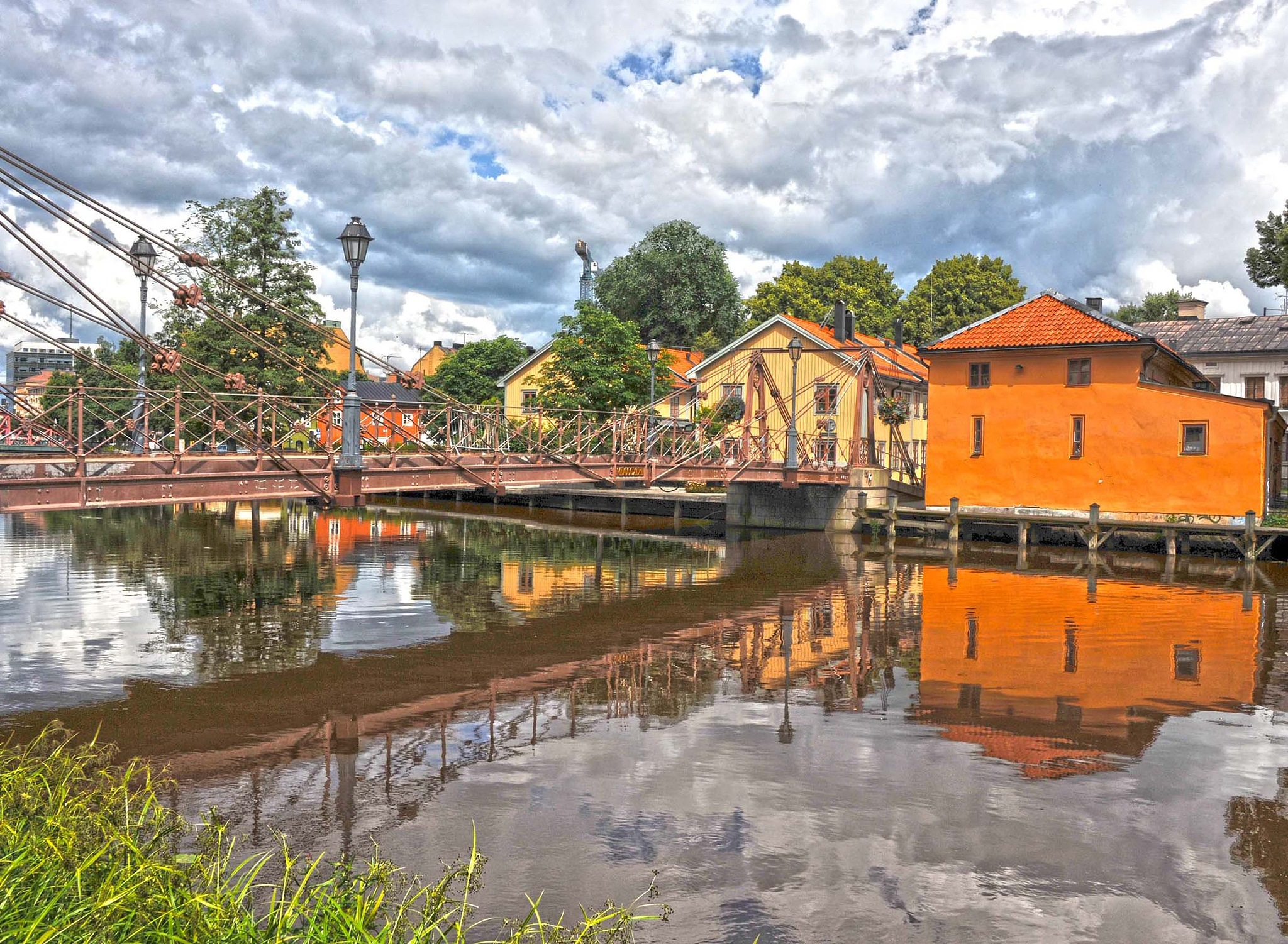 A summer day in Uppsala by bo