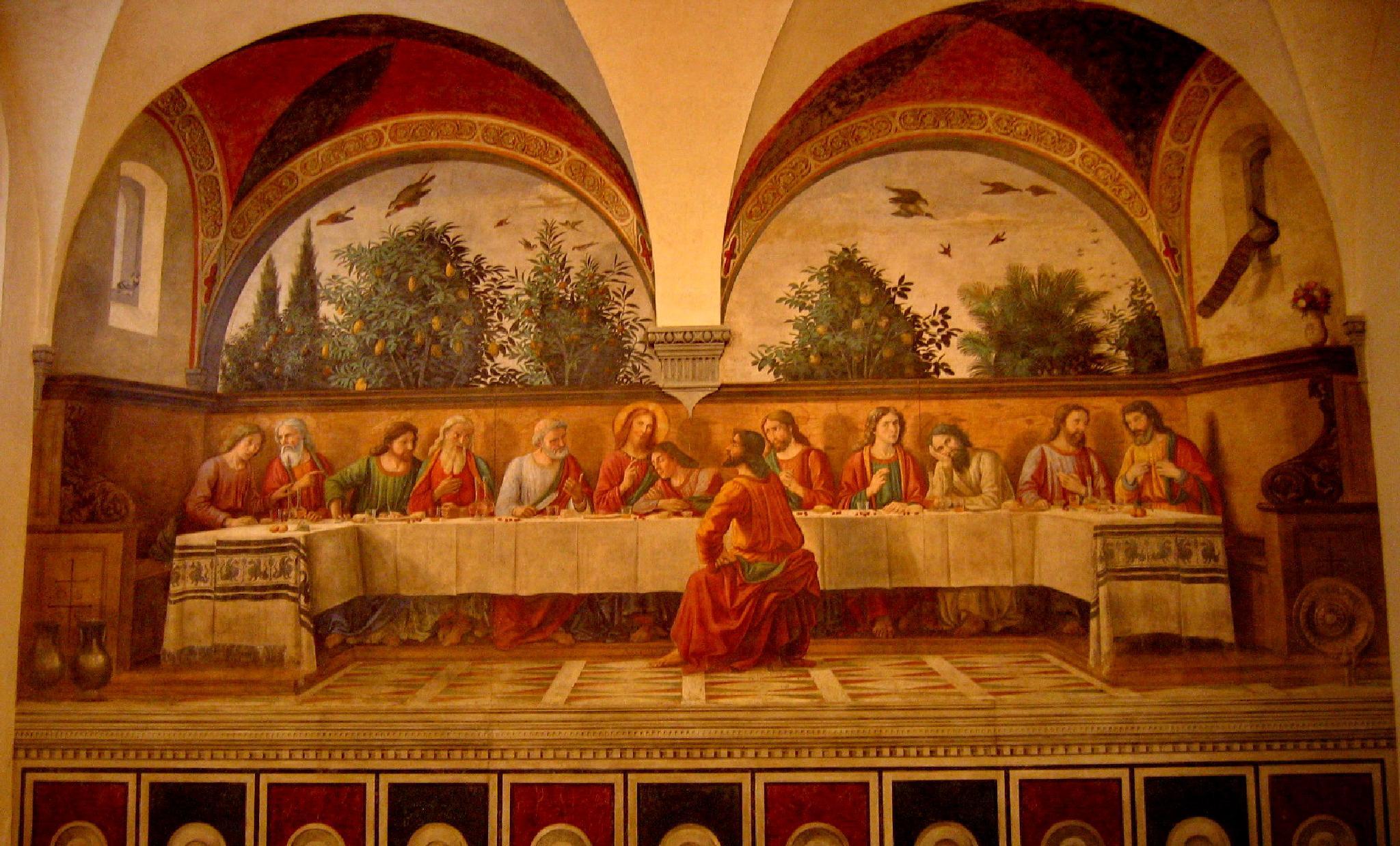Photo in Interior #leonardo da vinci #church #fresco