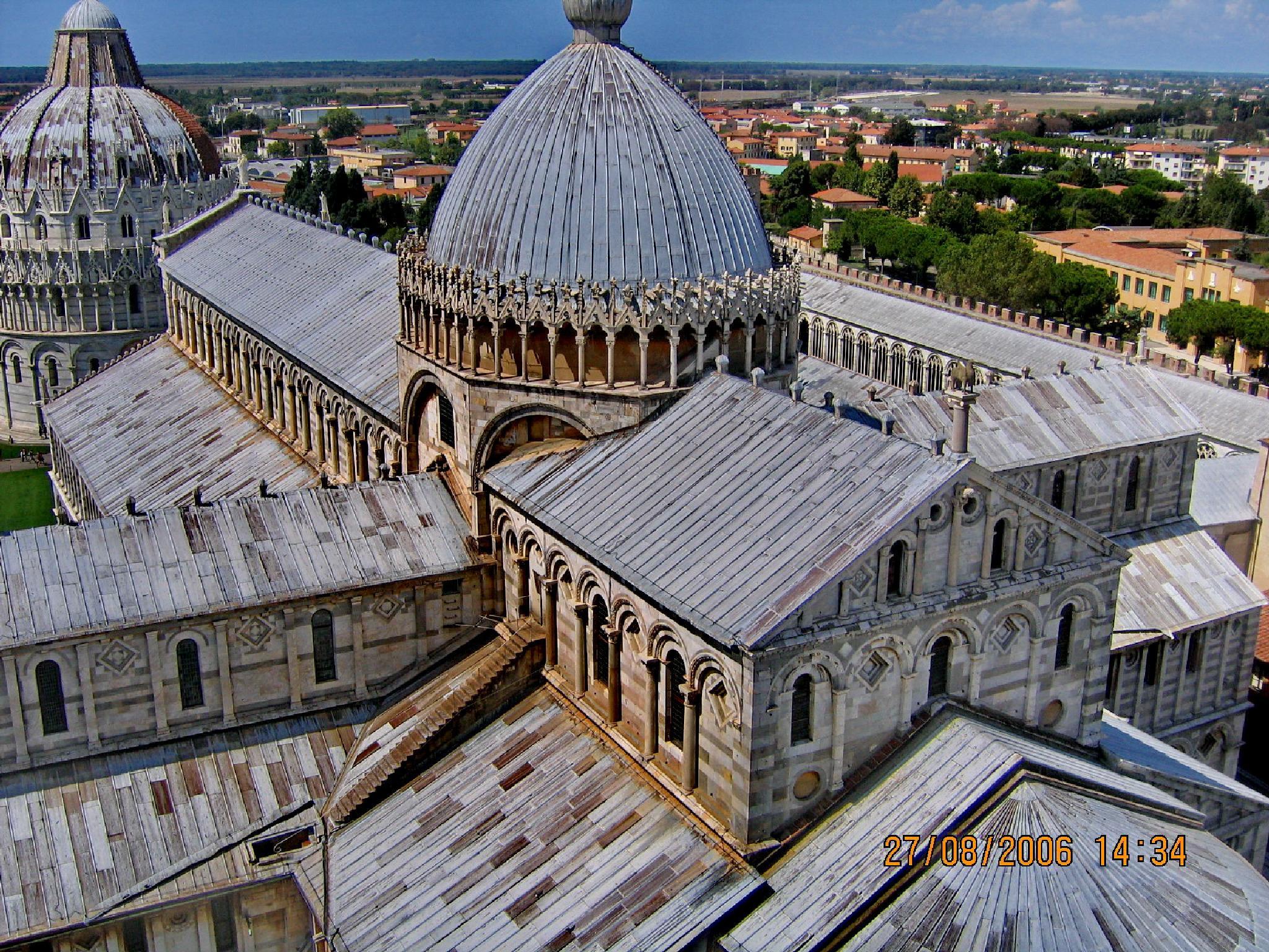 The Dome from Pisa by Irina Carmen Brinza