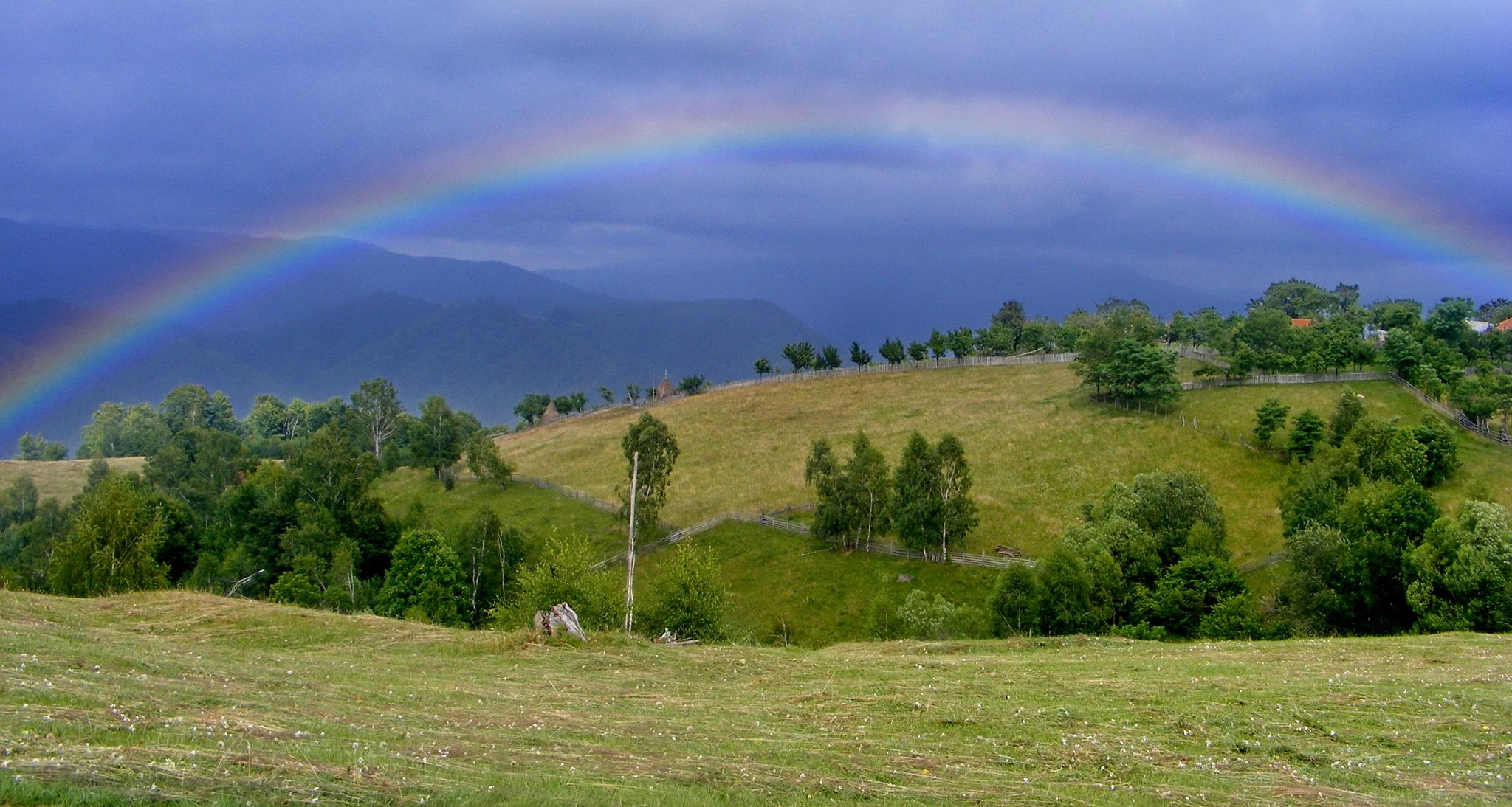Somewhere...over the rainbow by Irina Carmen Brinza