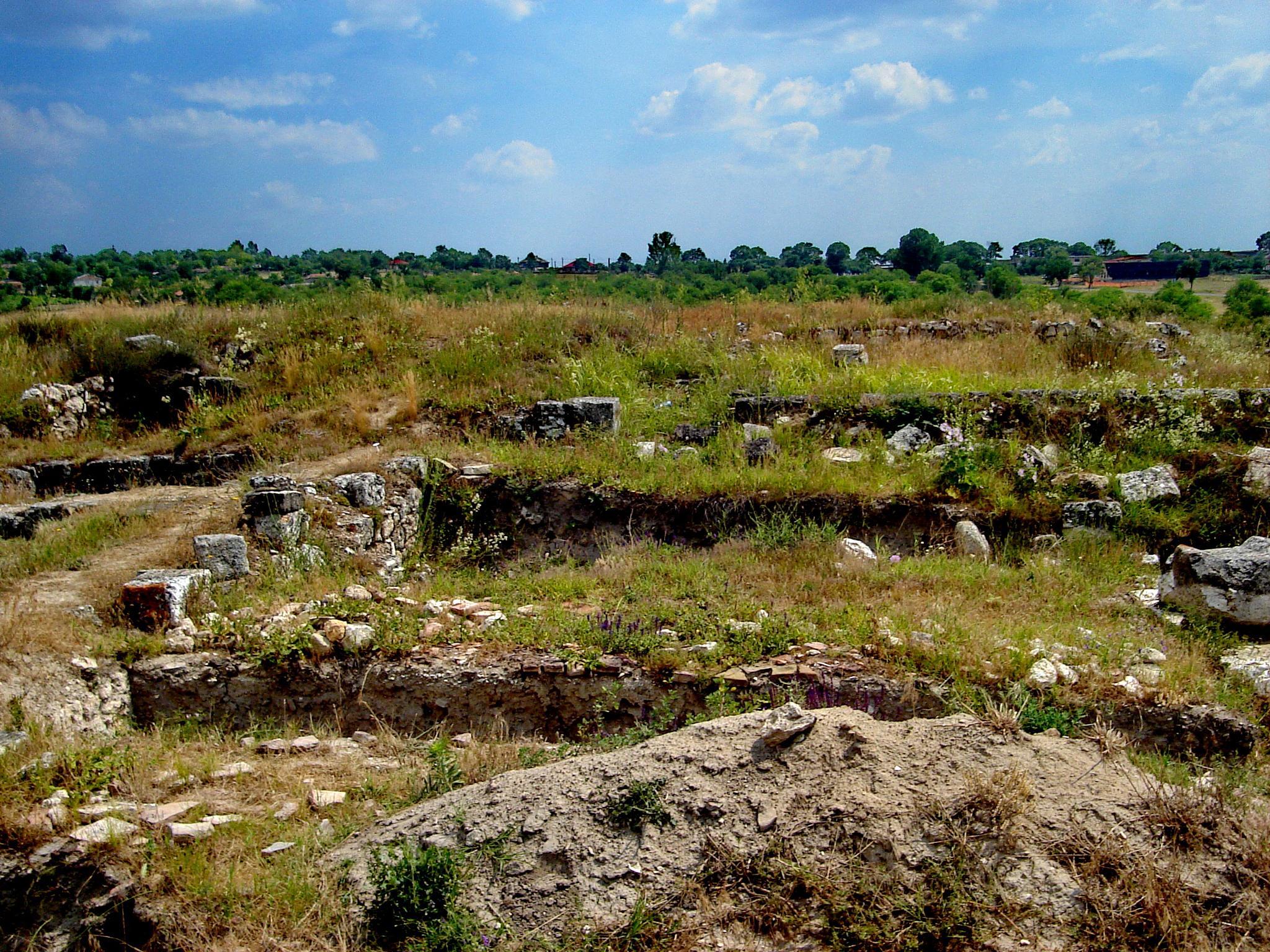 Ruins are everywhere by Irina Carmen Brinza