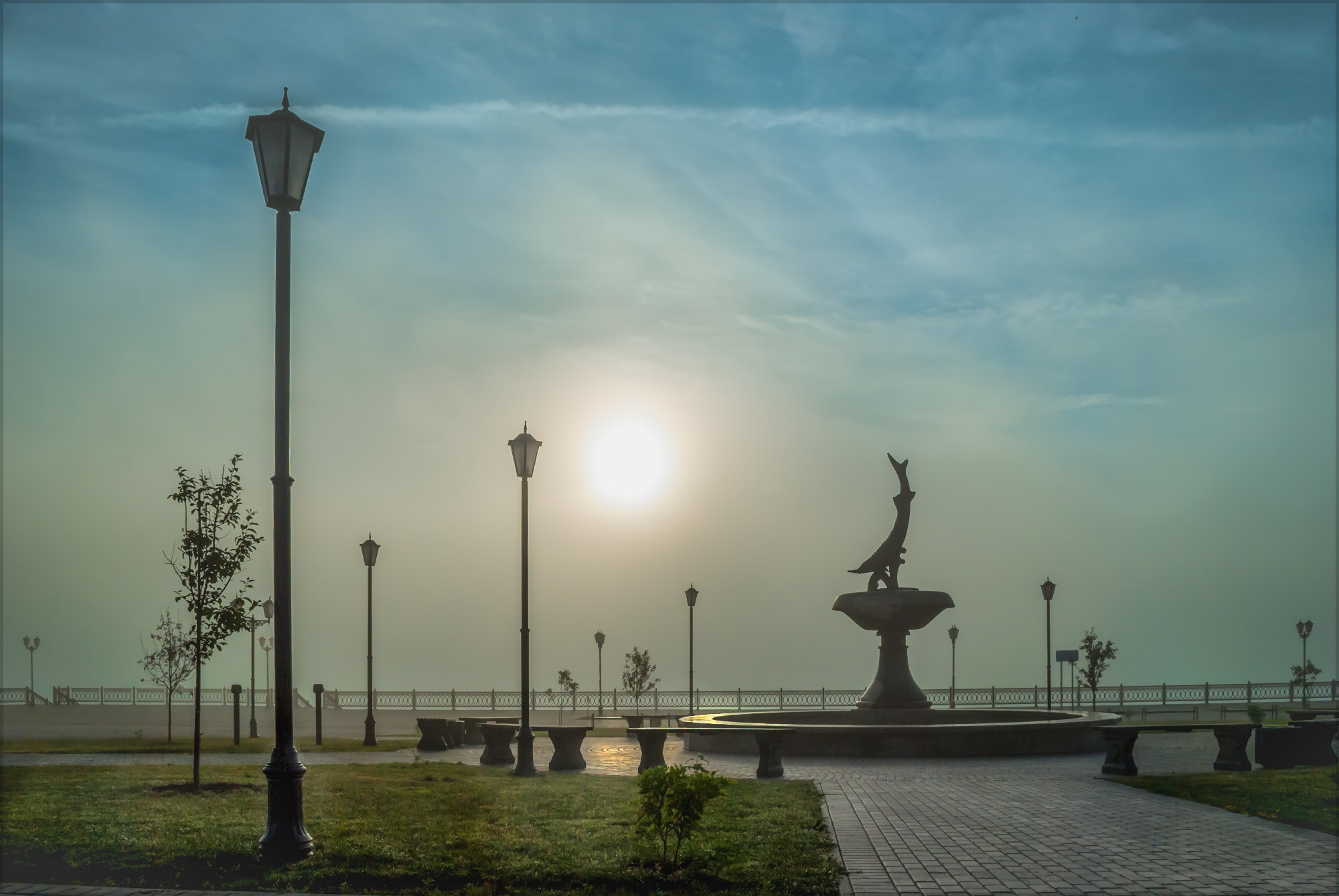 Спящий фонтан (Not awakened fountain) by tatyanabelousova0996