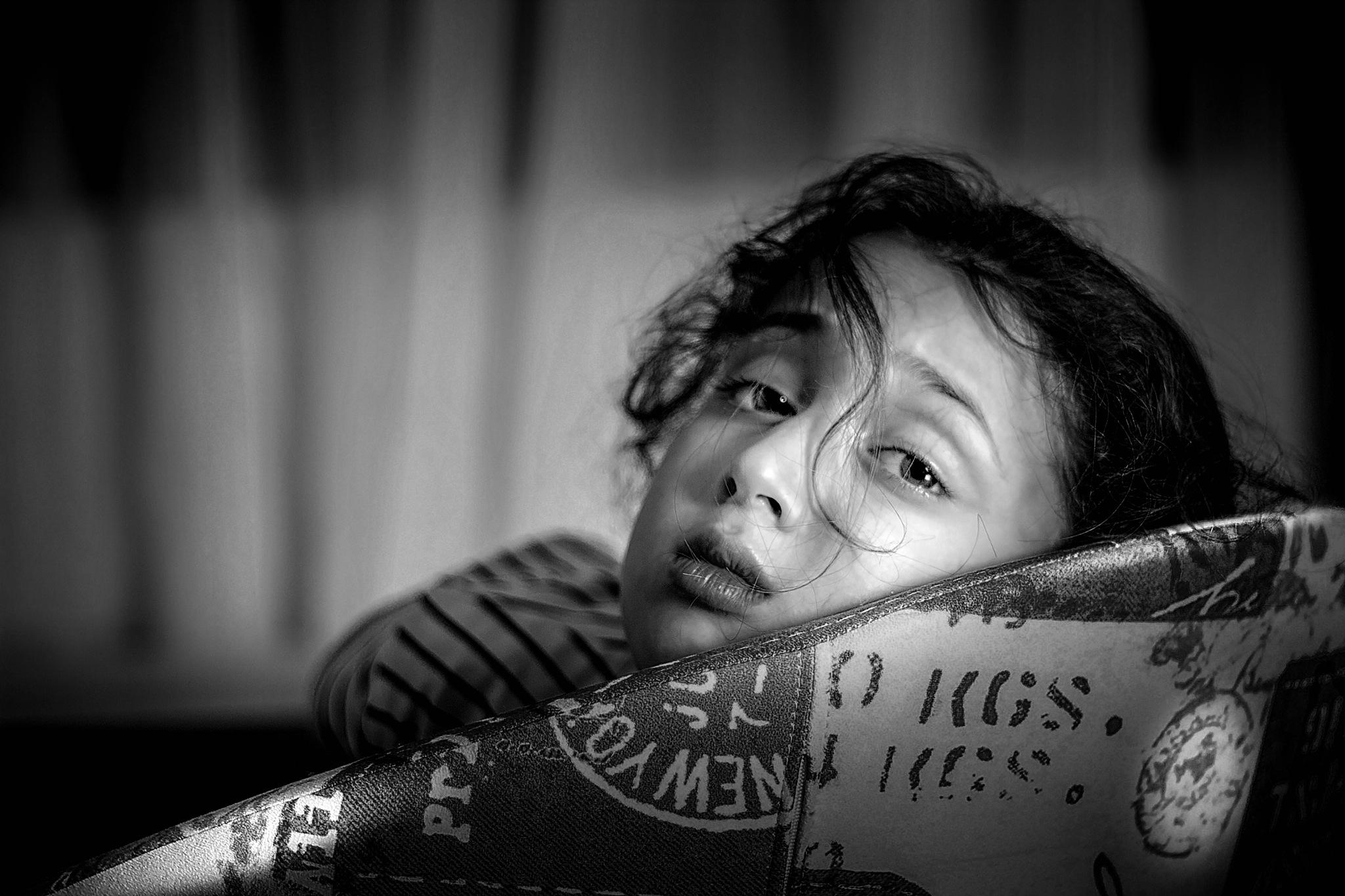 Sleepy Eyes#2 by Riad Zbeida
