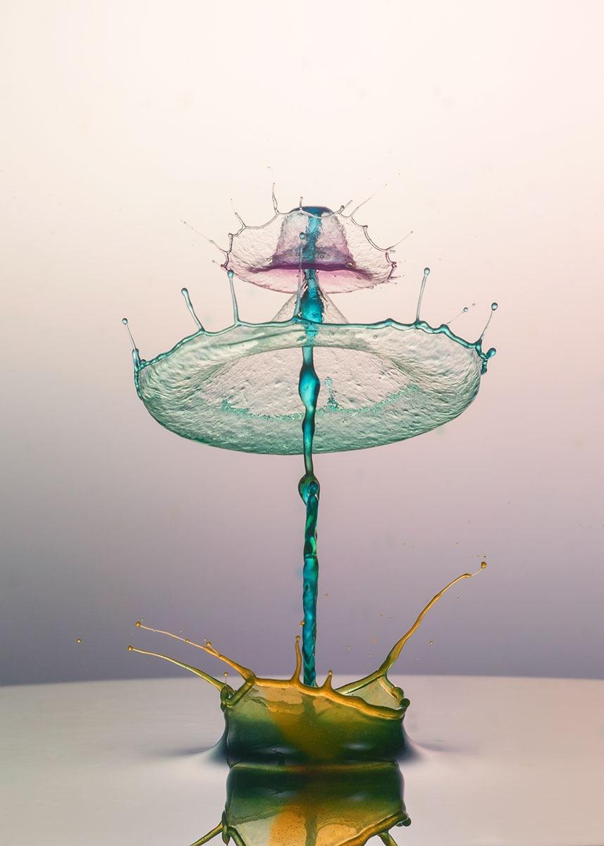 liquid flower by mustafa yağcı