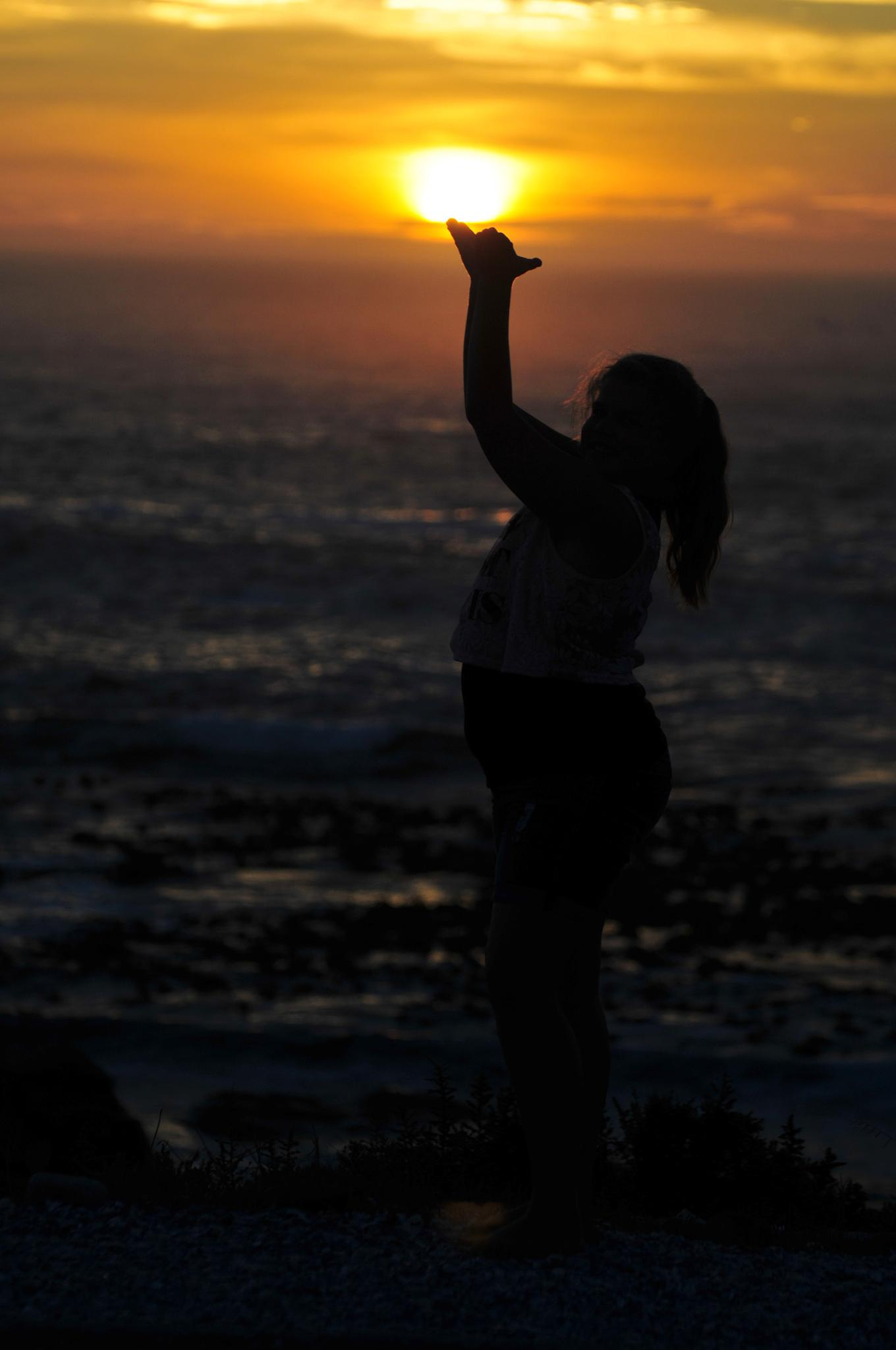 Holding Sun by Marius