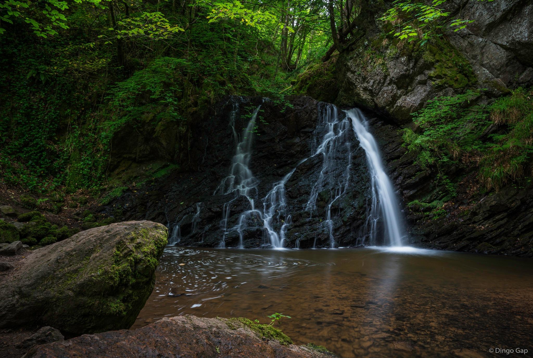 Rosemarkie Burn, Fairy Glen Falls, The Black Isle by Peter Medbury